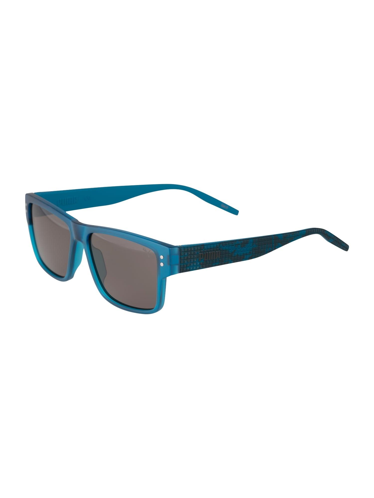 PUMA Sluneční brýle  šedá / modrá