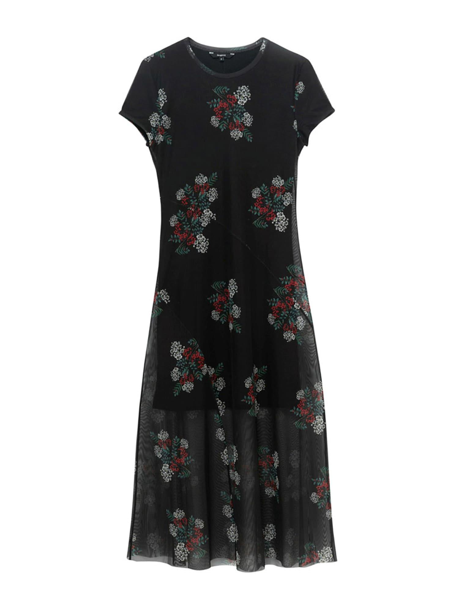 Desigual Šaty 'VEST ESTELA'  černá / mix barev