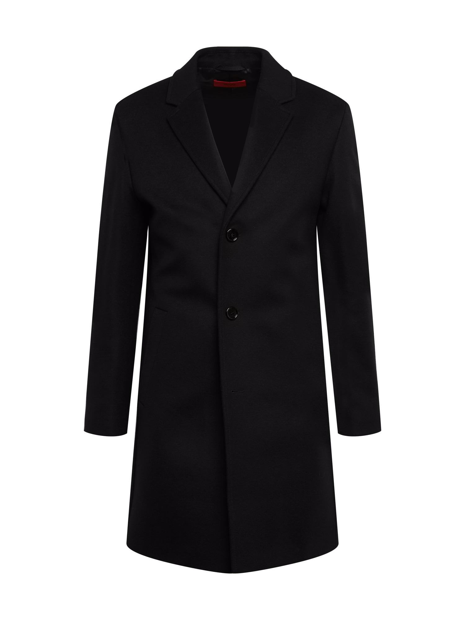 HUGO Žieminis paltas 'Malte' juoda