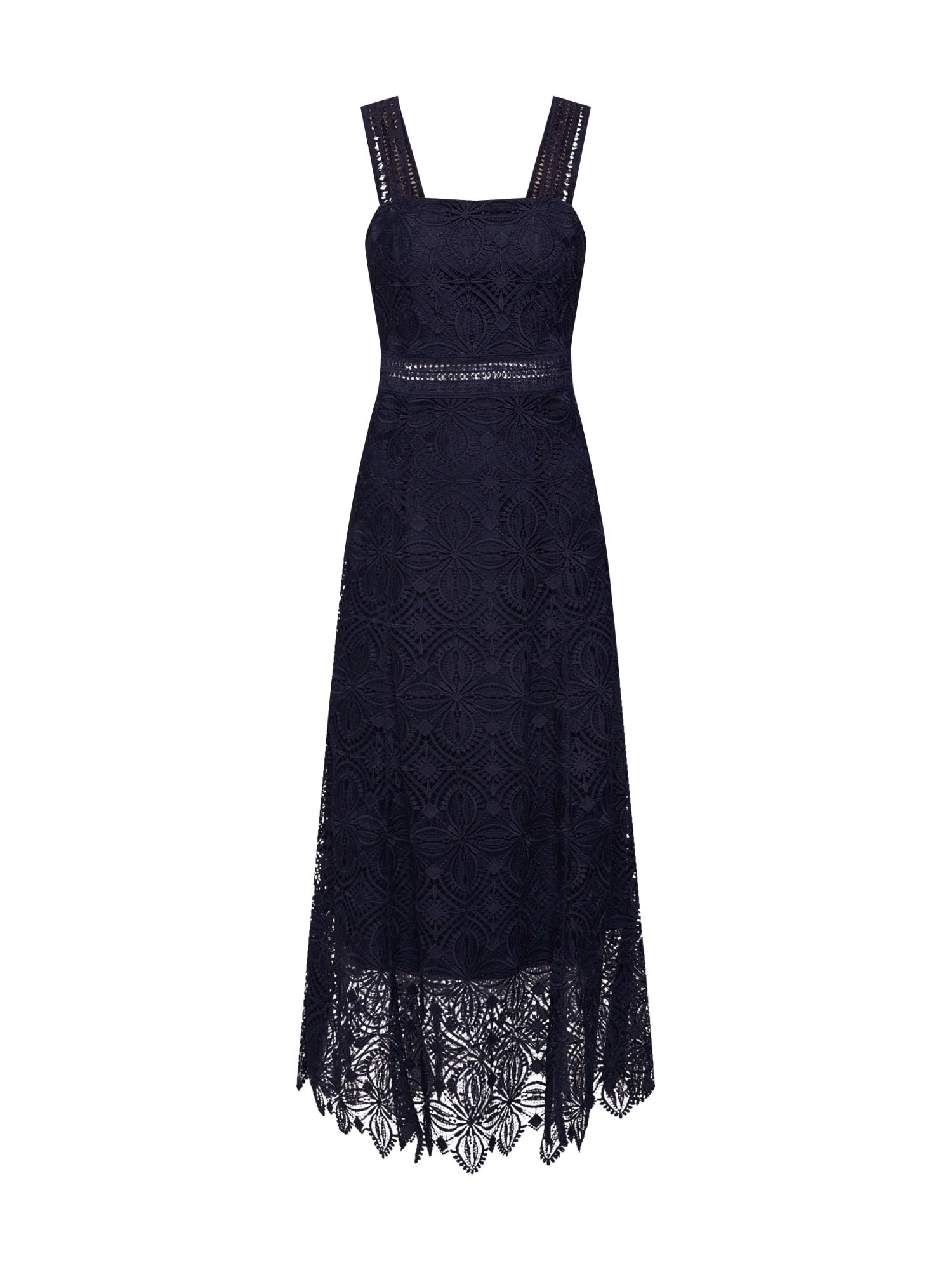 IVY & OAK Suknelė tamsiai mėlyna jūros spalva