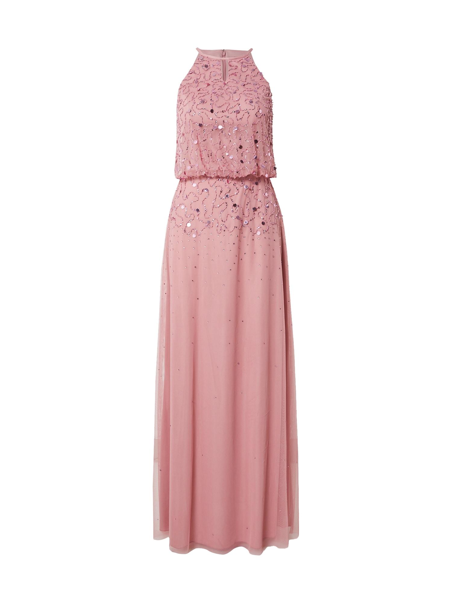 Laona Vakarinė suknelė ryškiai rožinė spalva