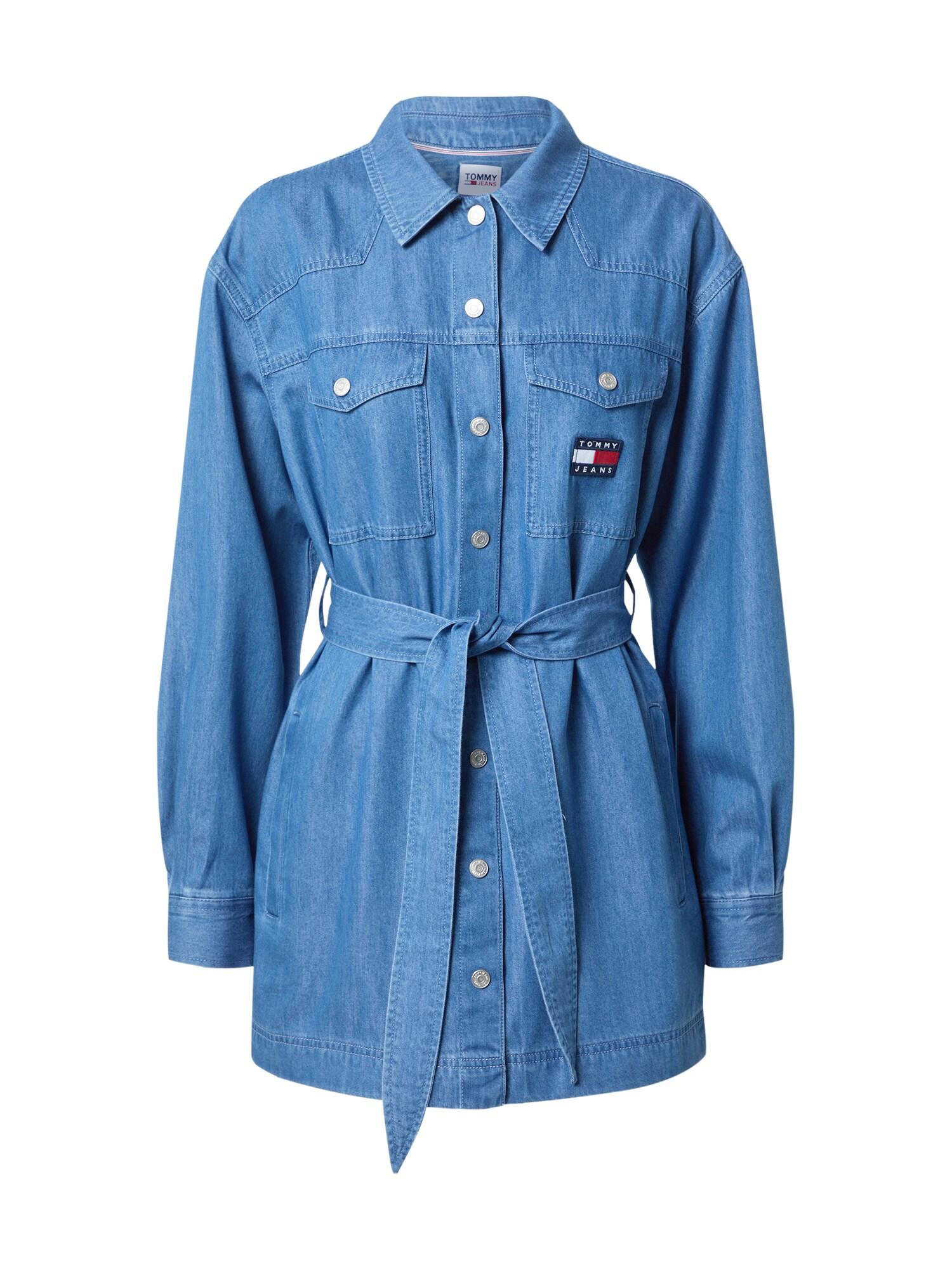 Tommy Jeans Palaidinė tamsiai (džinso) mėlyna
