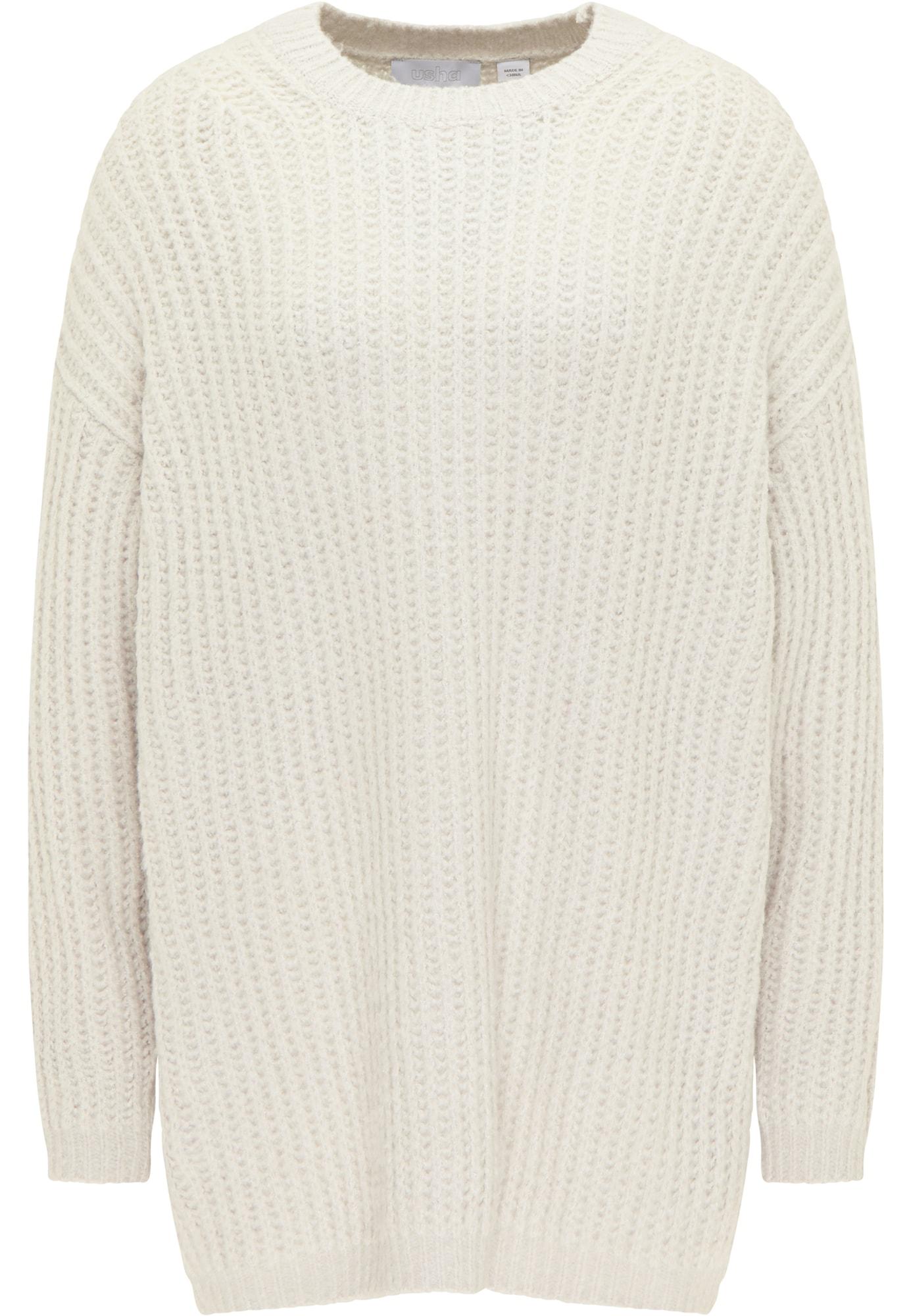 usha WHITE LABEL Megztinis smėlio
