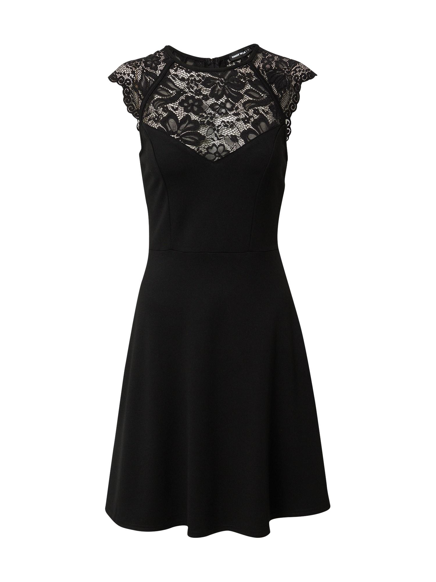 Tally Weijl Kokteilinė suknelė juoda