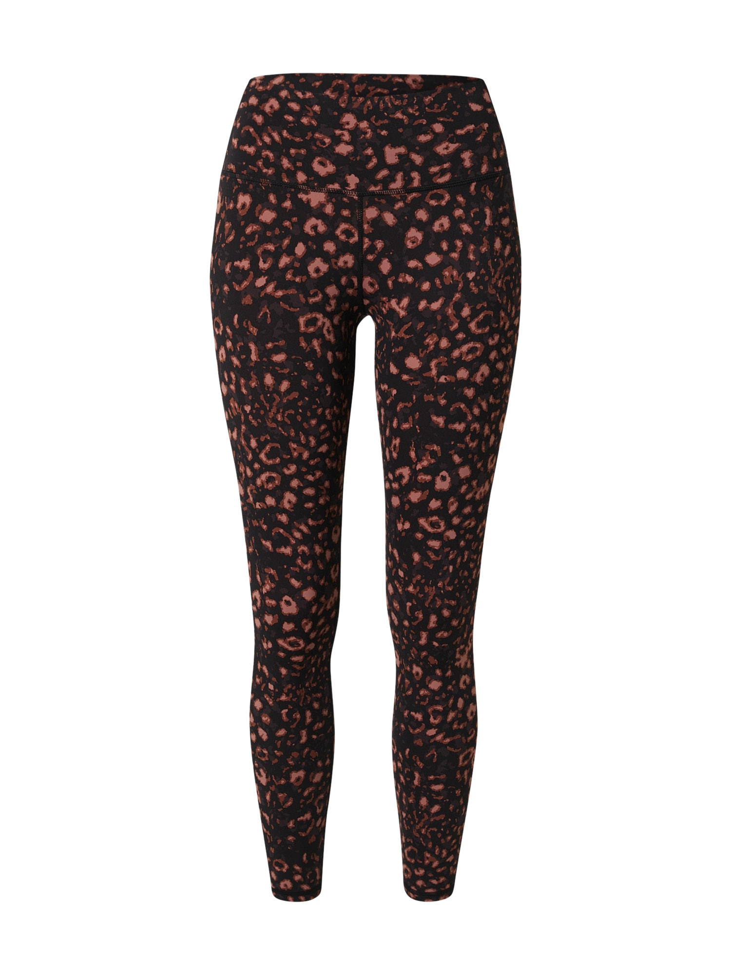 Varley Sportovní kalhoty 'Luna'  černá / hnědá / béžová