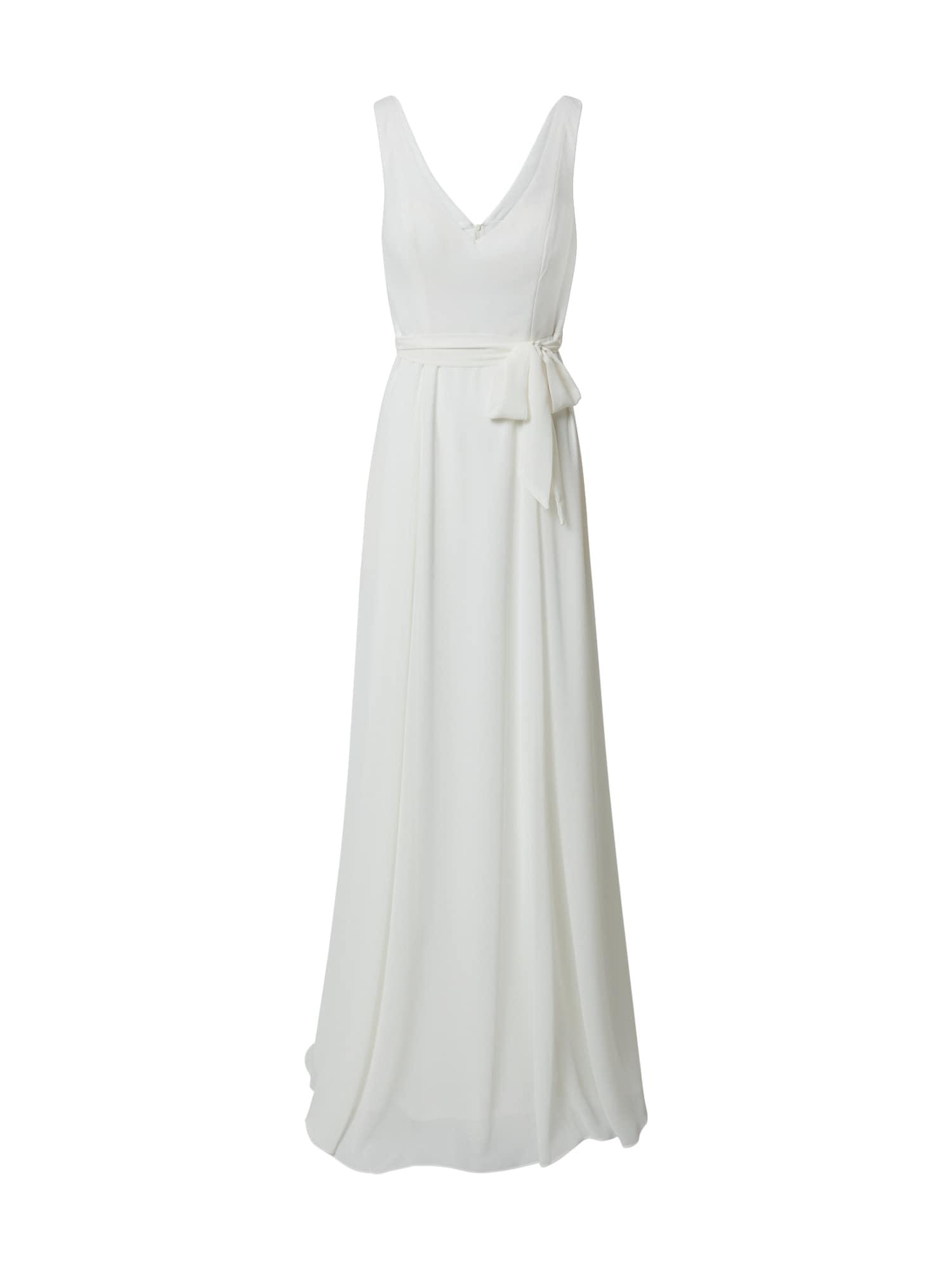 STAR NIGHT Vakarinė suknelė balta