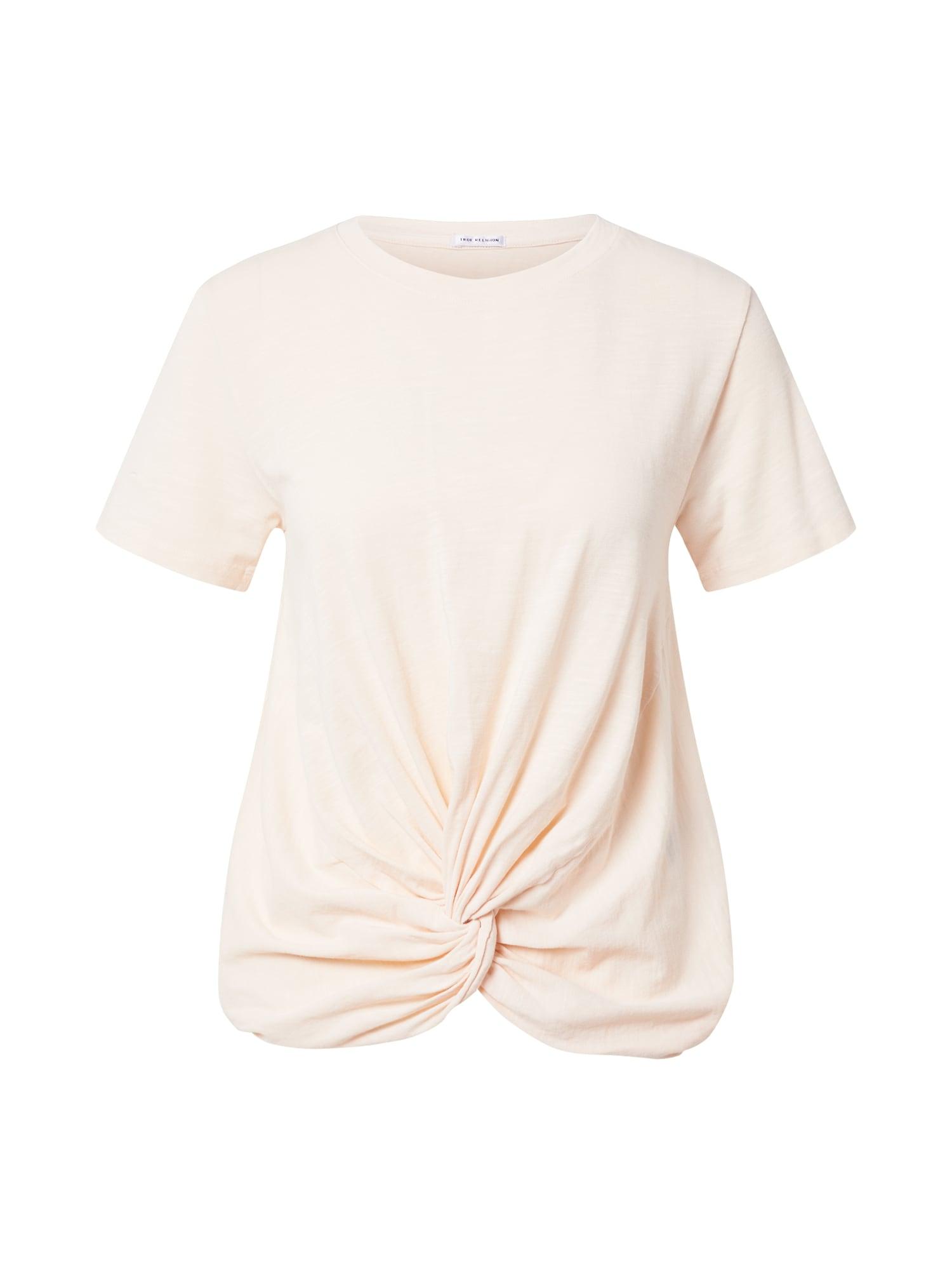 True Religion Marškinėliai pastelinė rožinė