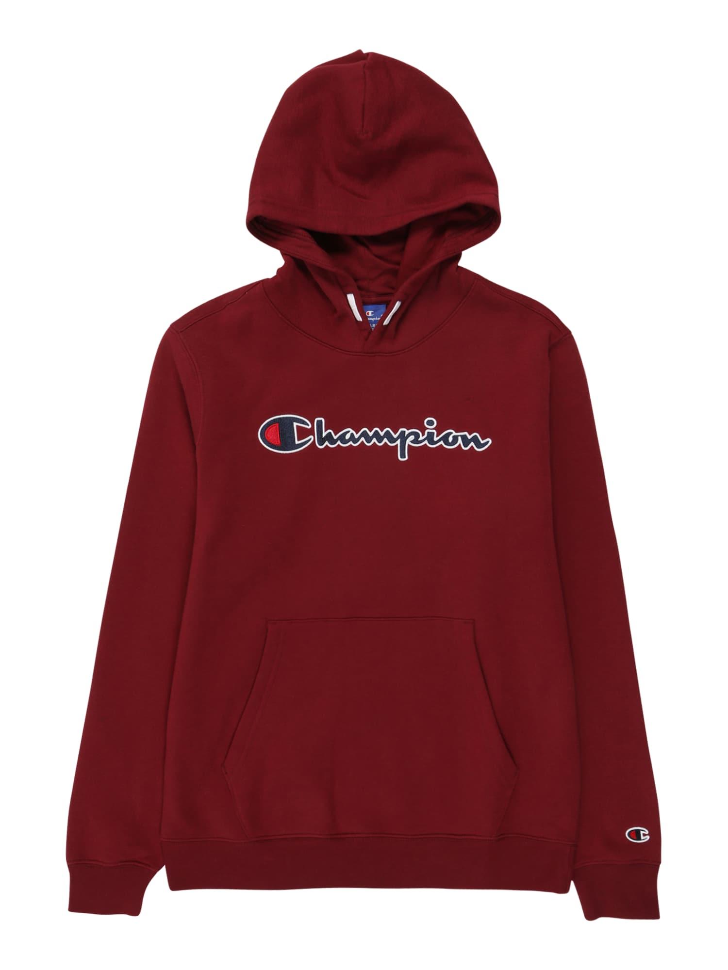 Champion Authentic Athletic Apparel Megztinis be užsegimo vyno raudona spalva