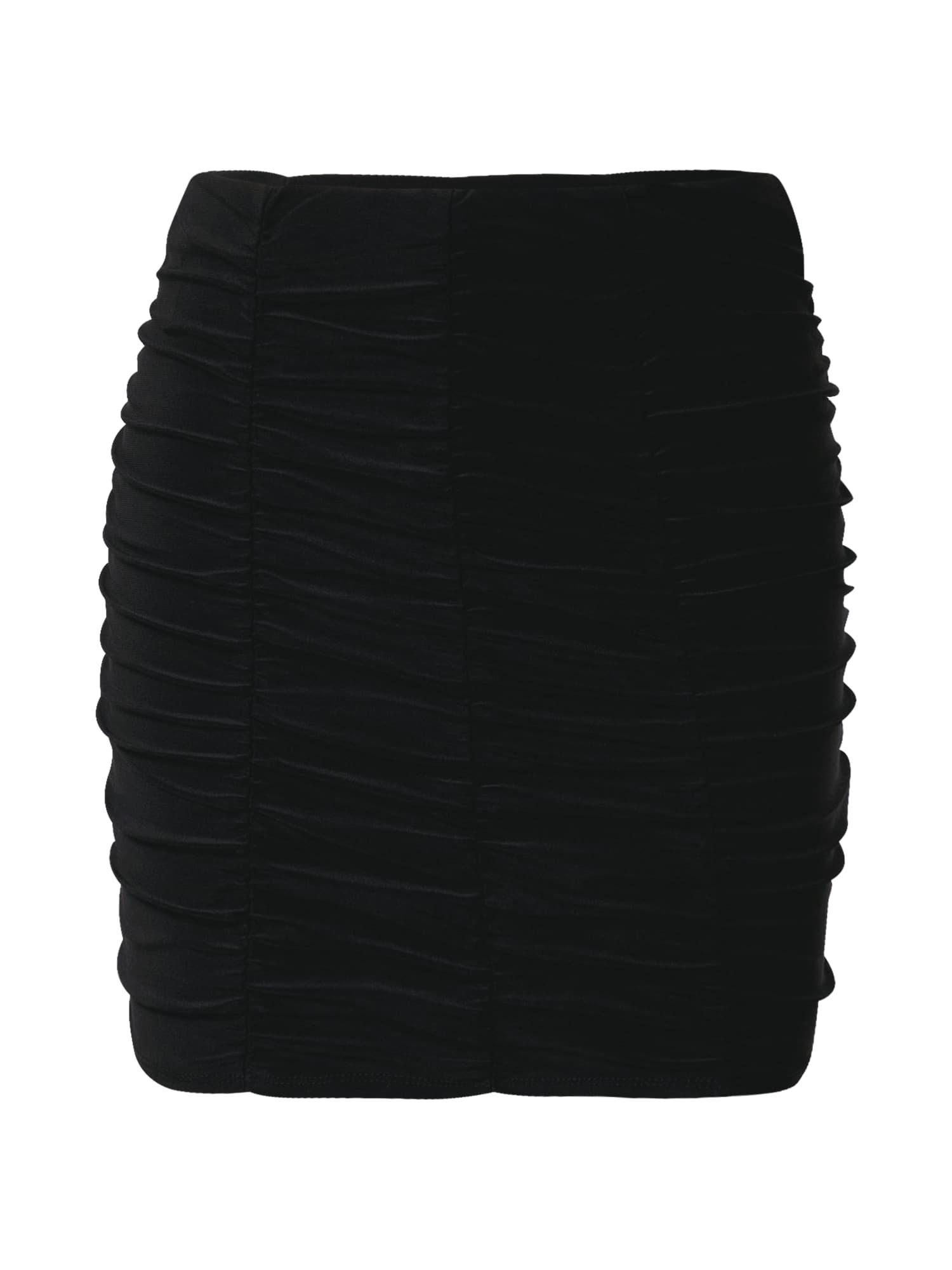 Miss Selfridge Sukně  černá