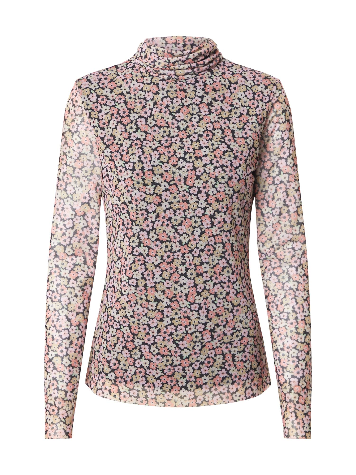 CATWALK JUNKIE Marškinėliai rožinė / juoda / obuolių spalva