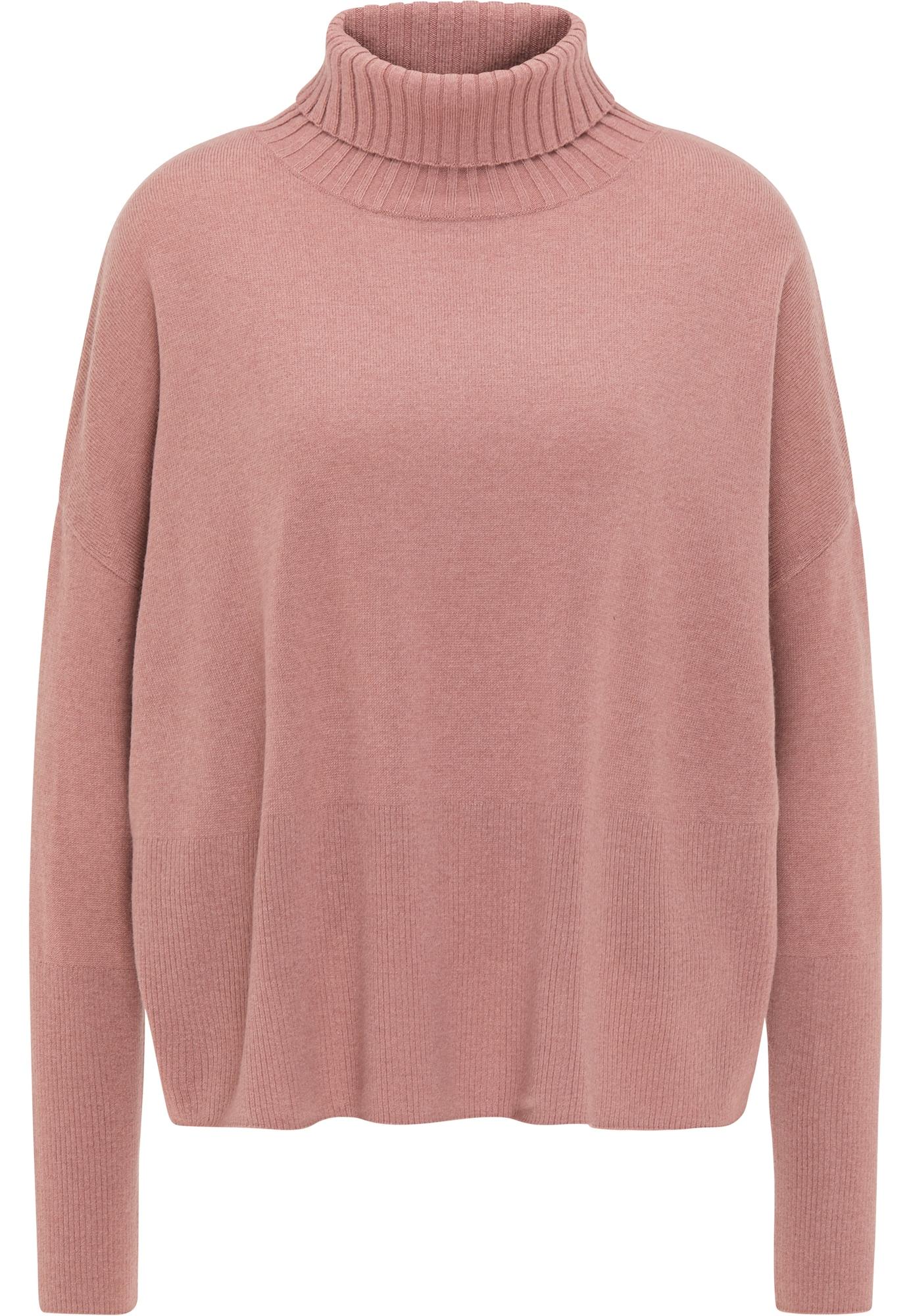 usha BLACK LABEL Laisvas megztinis ryškiai rožinė spalva