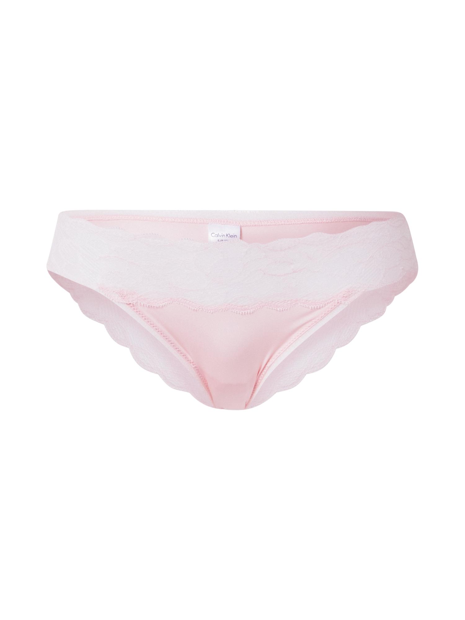 Calvin Klein Underwear Moteriškos kelnaitės rožinė