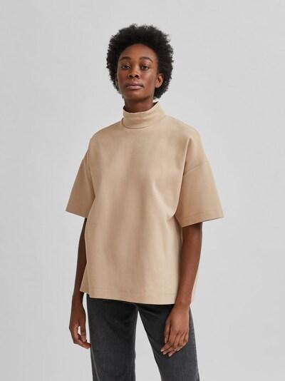 Selected Femme Gida Loses T-Shirt mit hohem Hals