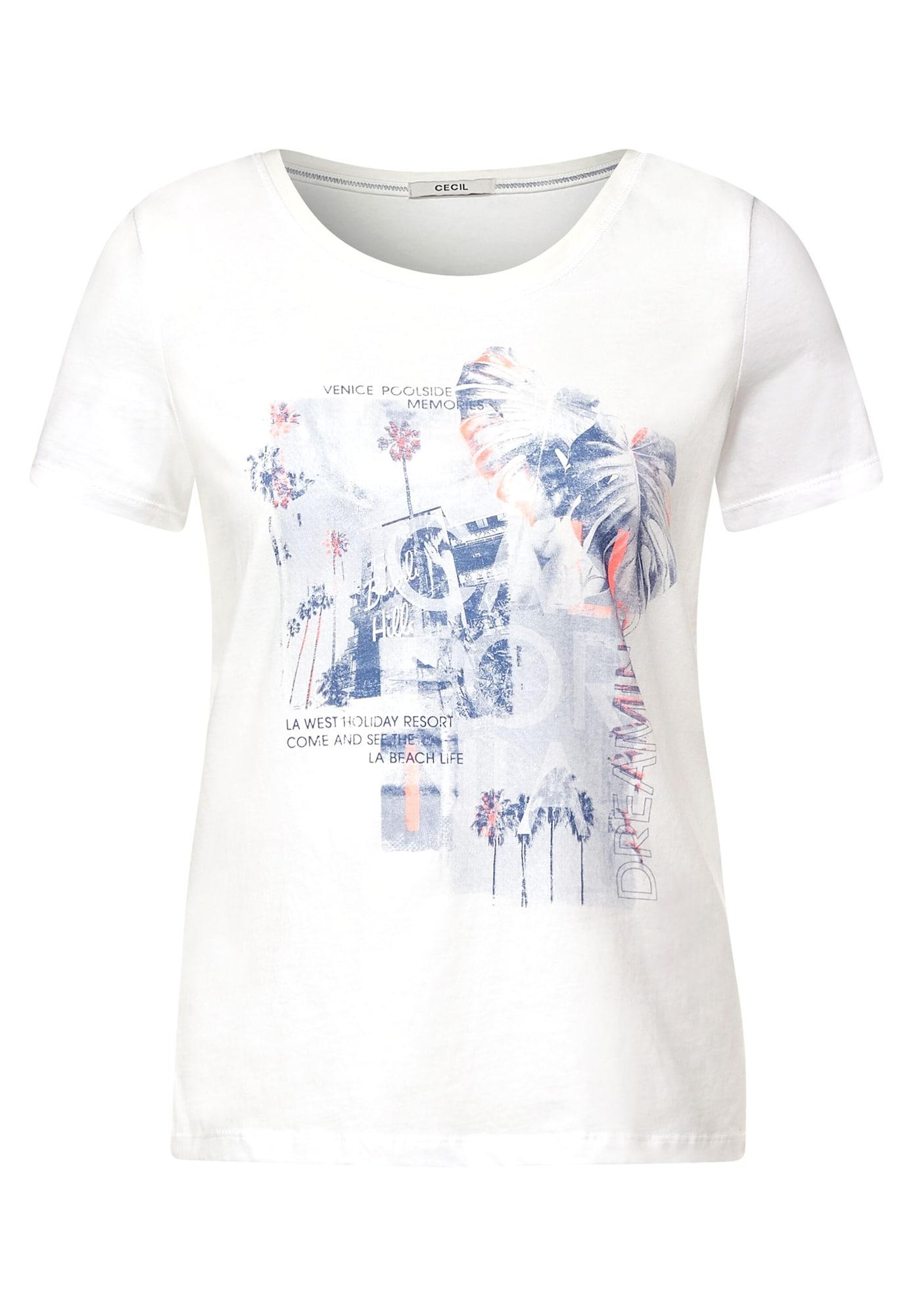 CECIL Marškinėliai balta