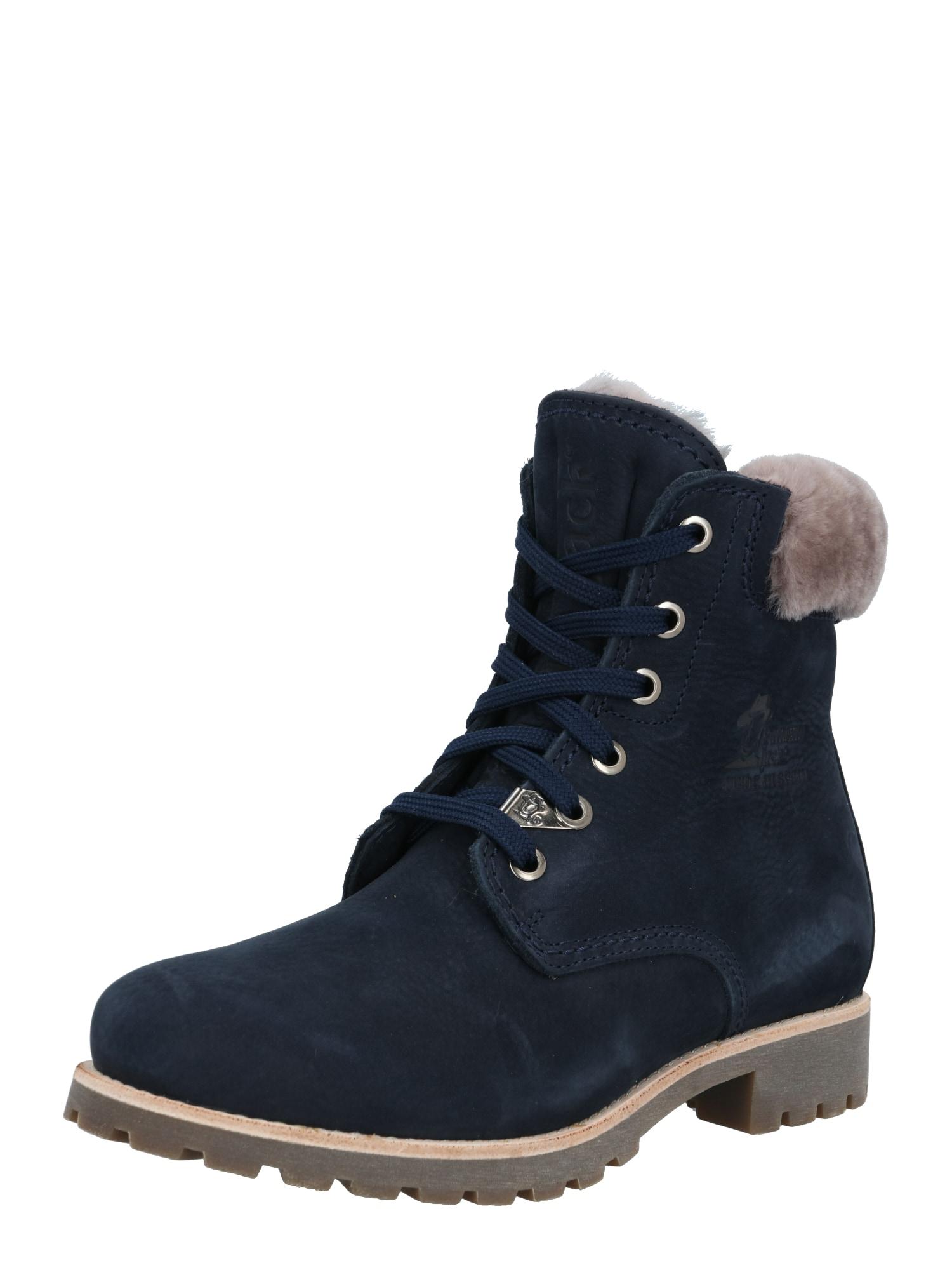 PANAMA JACK Suvarstomieji kulkšnis dengiantys batai tamsiai mėlyna