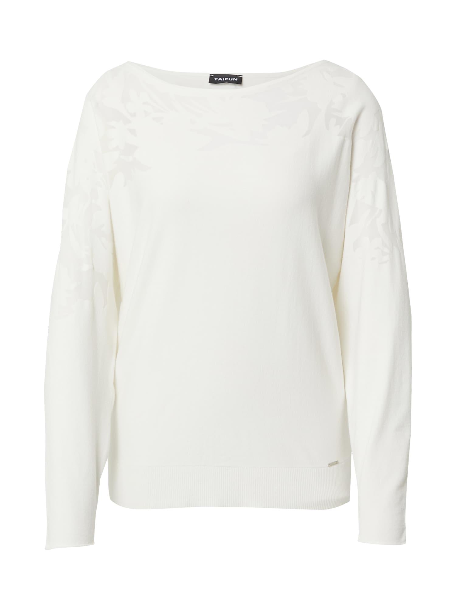TAIFUN Marškinėliai balkšva
