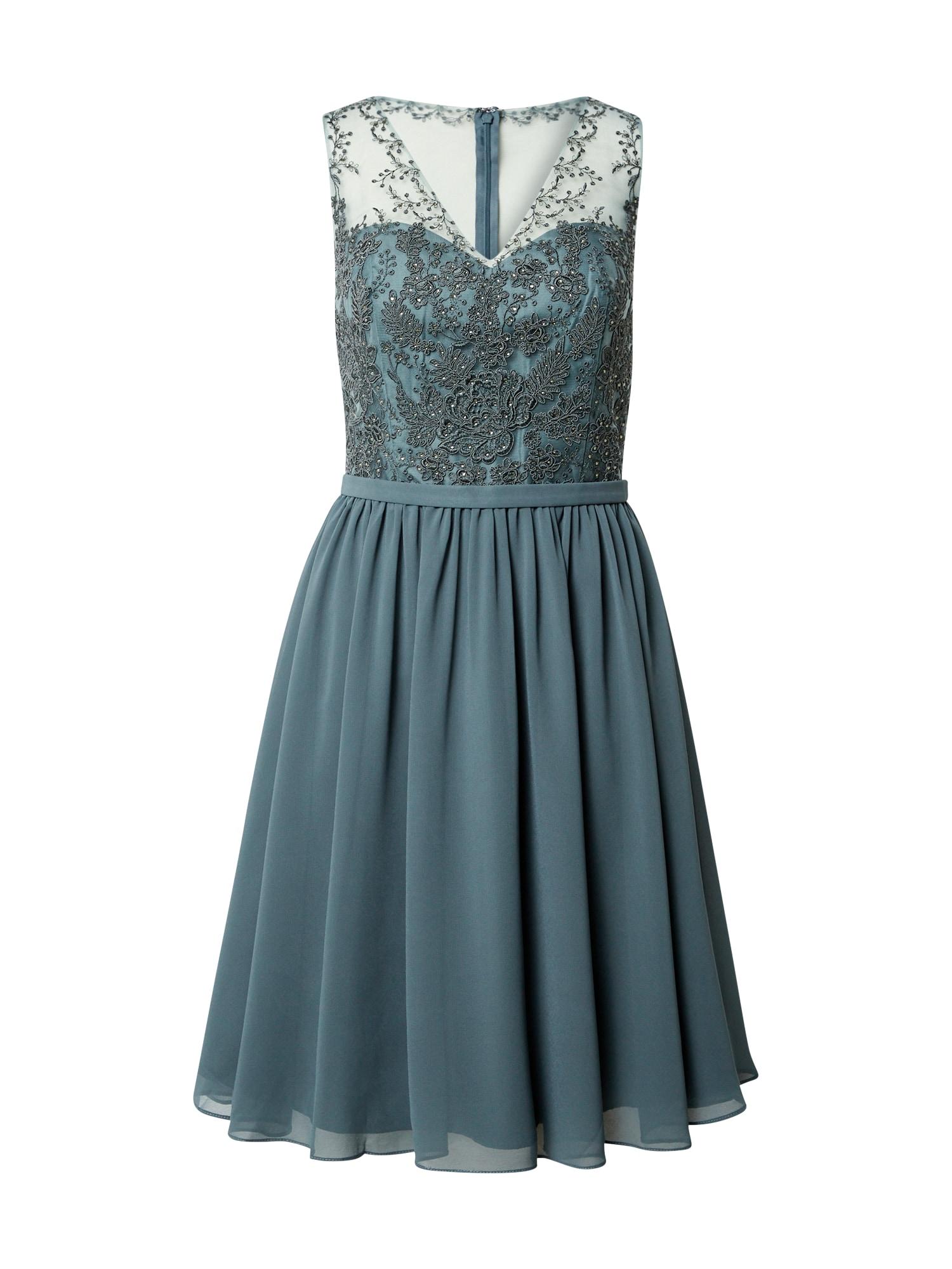mascara Kokteilinė suknelė melsvai pilka