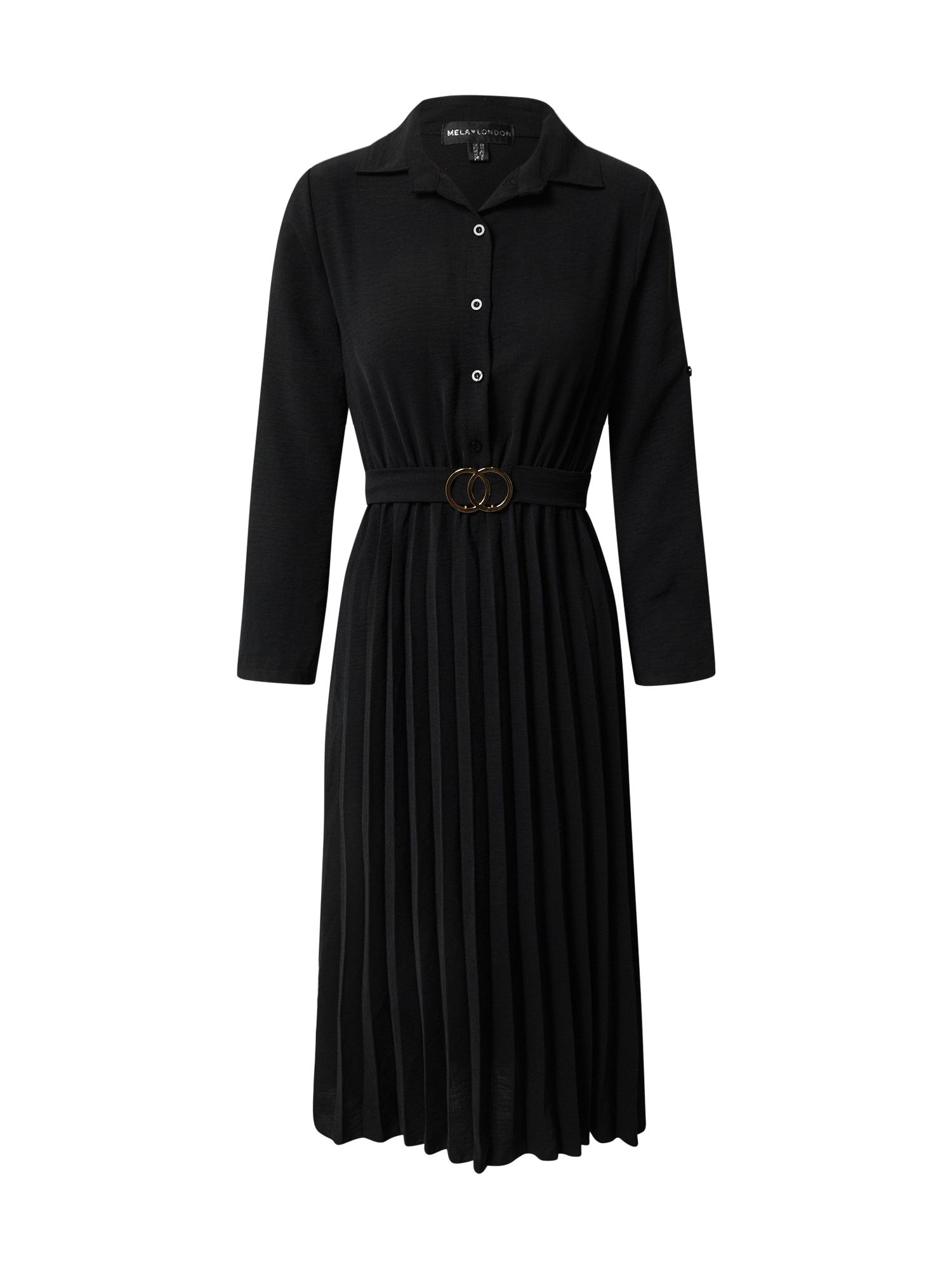 Mela London Palaidinės tipo suknelė juoda