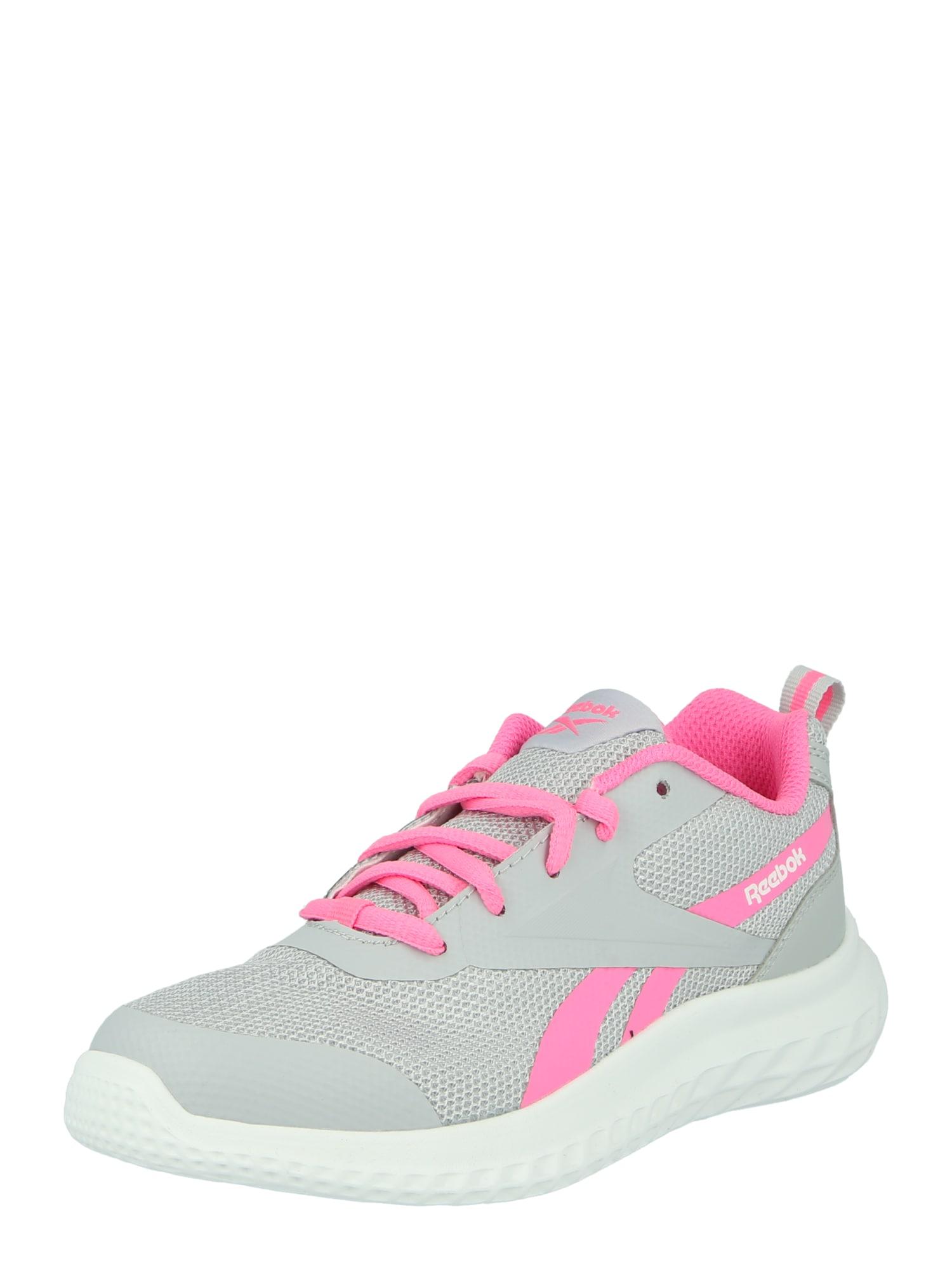 REEBOK Sportiniai batai 'RUSH RUNNER 3.0' pilka / rožinė