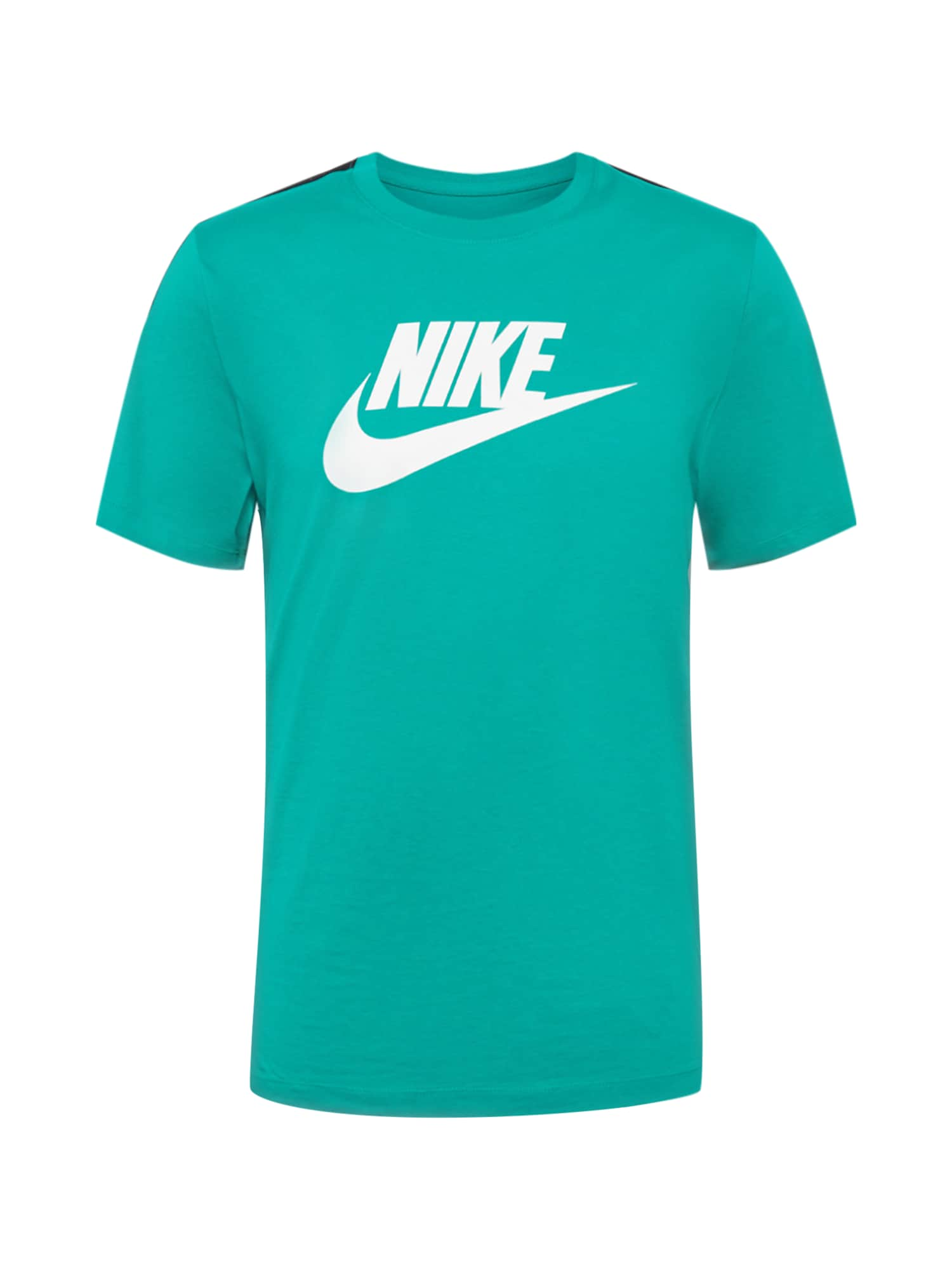 Nike Sportswear Tričko 'HYBRID'  nefritová / bílá / černá