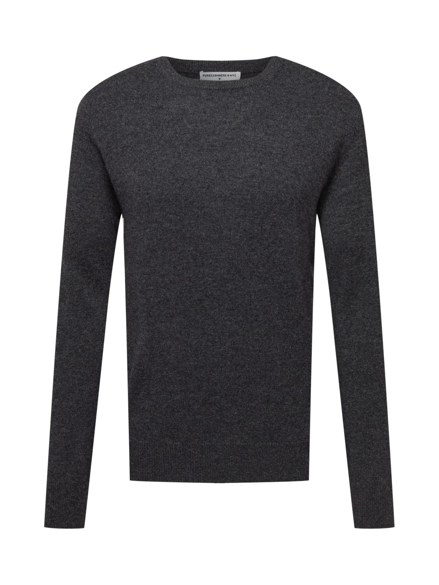 Pure Cashmere NYC Megztinis tamsiai pilka