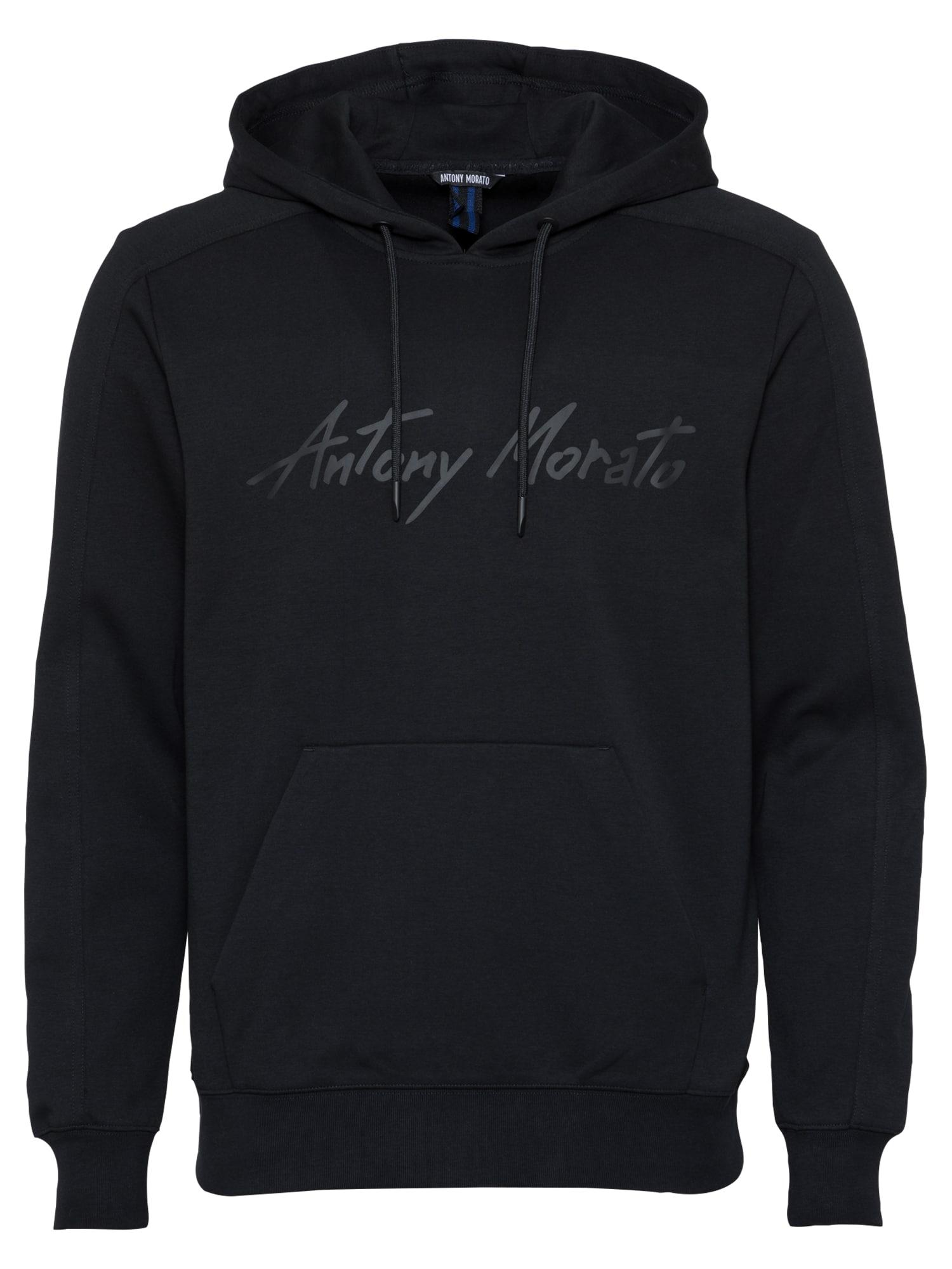 ANTONY MORATO Megztinis be užsegimo juoda