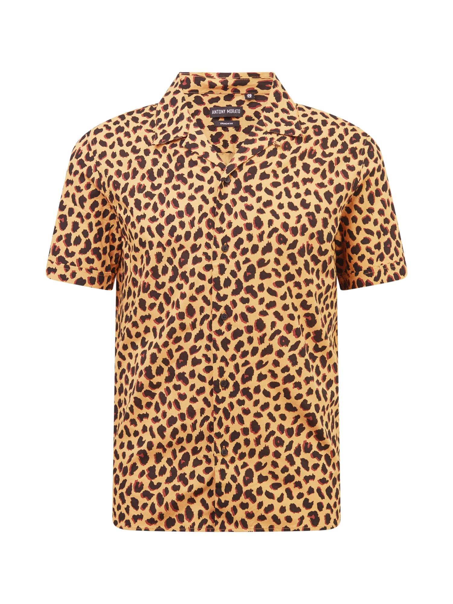 ANTONY MORATO Marškiniai šviesiai ruda / rusva / juoda
