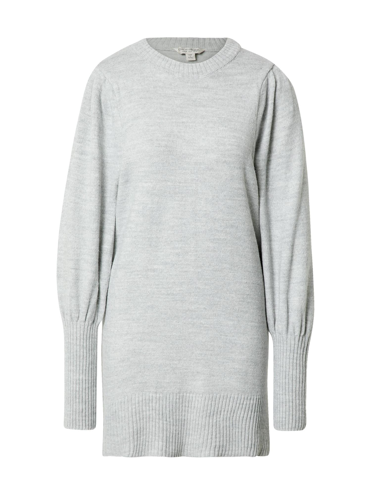 Miss Selfridge Úpletové šaty  šedá