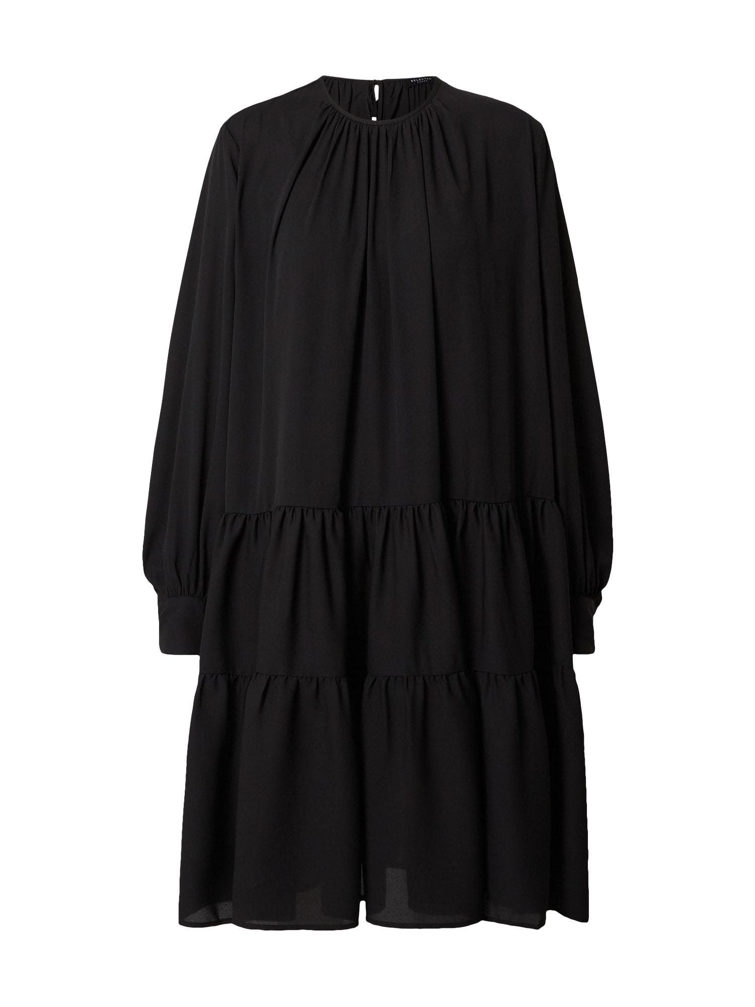 SELECTED FEMME Šaty 'Amaya'  černá
