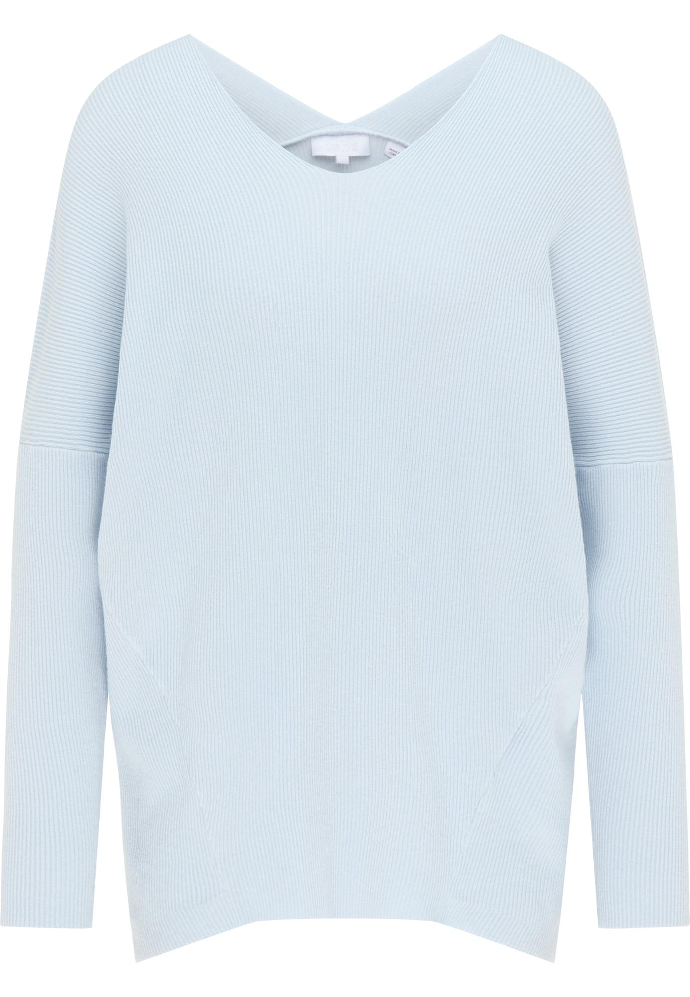 usha WHITE LABEL Megztinis pastelinė mėlyna