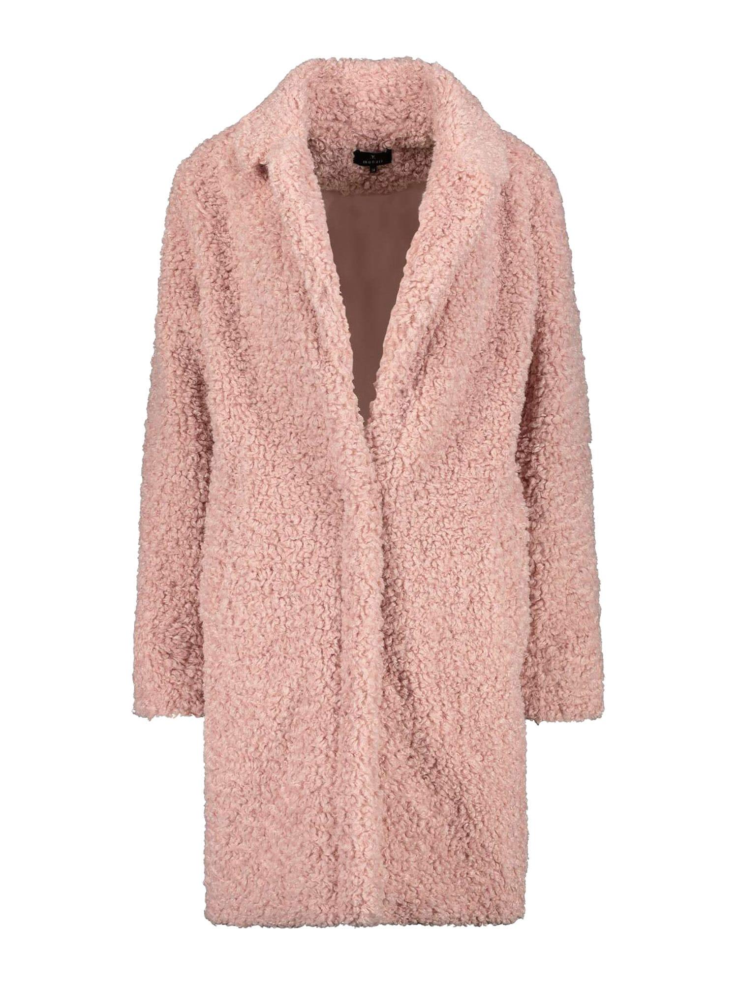 monari Demisezoninis paltas ryškiai rožinė spalva
