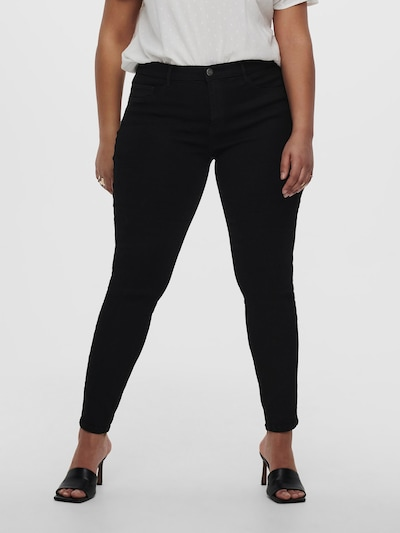 Only Carmakoma Storm Push Up High Waisted Skinny Jeans