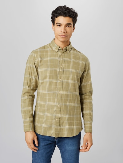 Selected Homme Kariertes Flanellhemd mit schmaler Passform