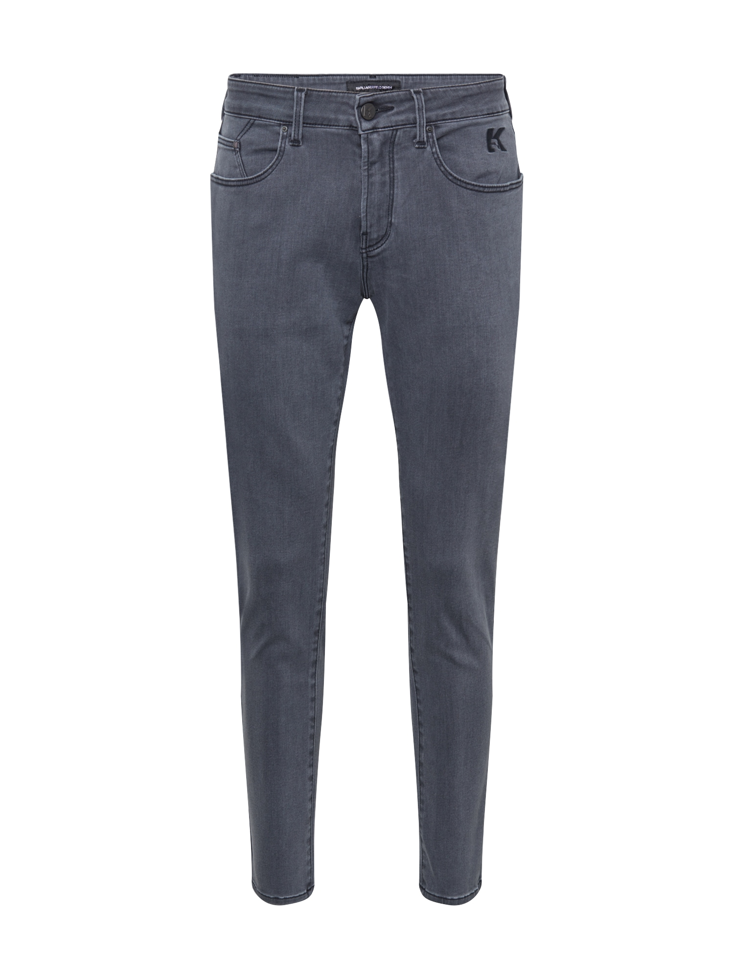 Karl Lagerfeld Denim Džíny  černá džínovina