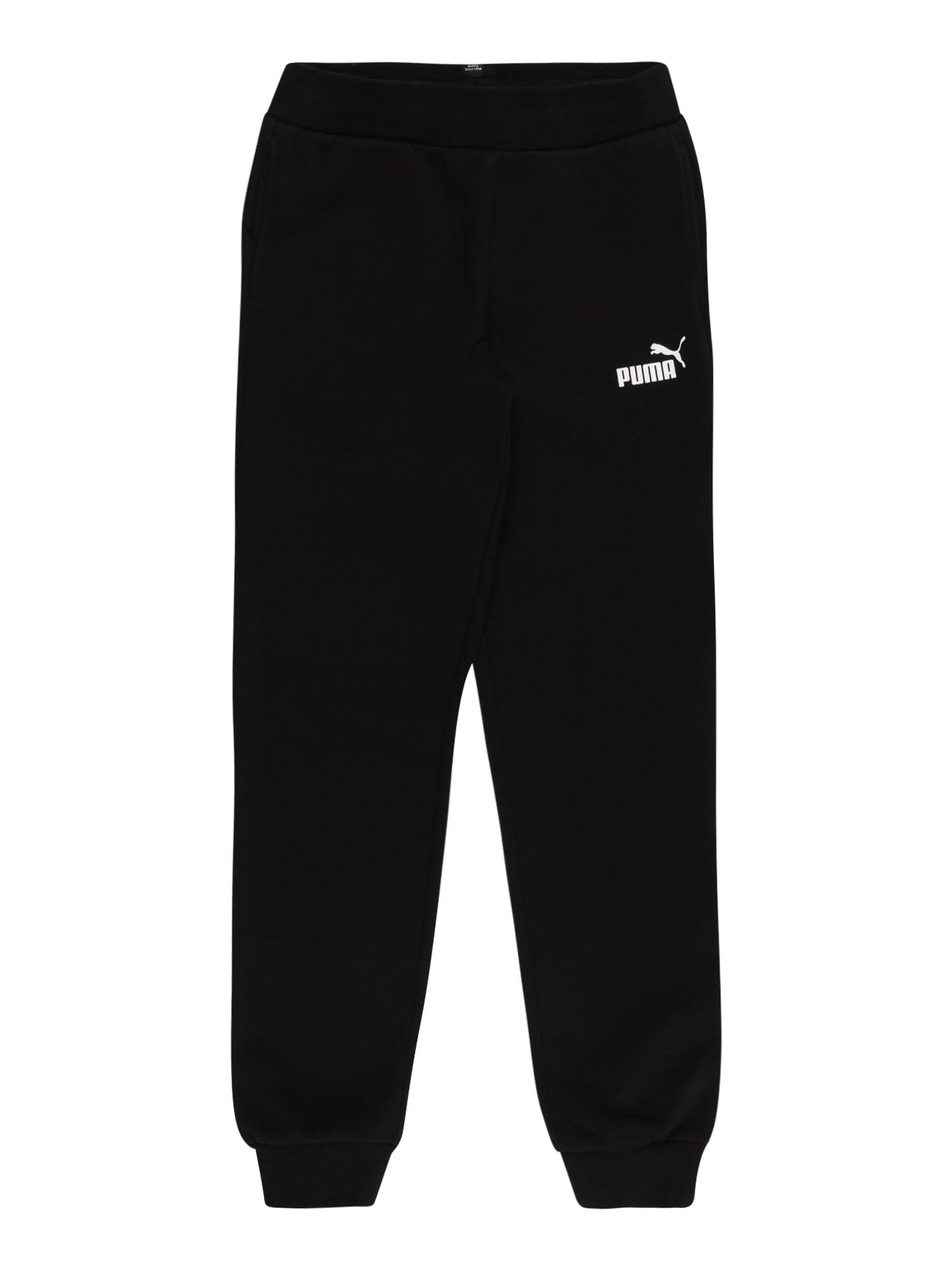 PUMA Kalhoty  černá