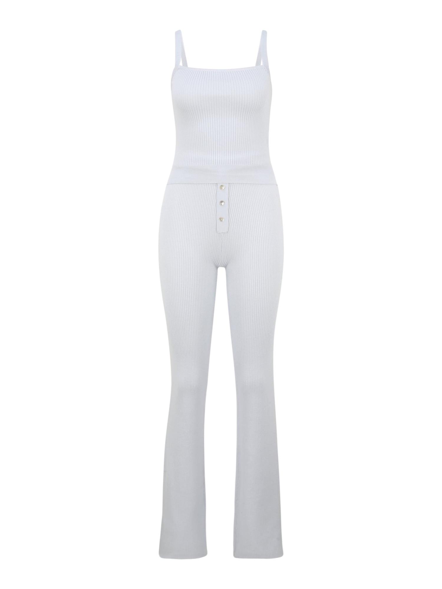 Missguided (Tall) Naminis kostiumas balta