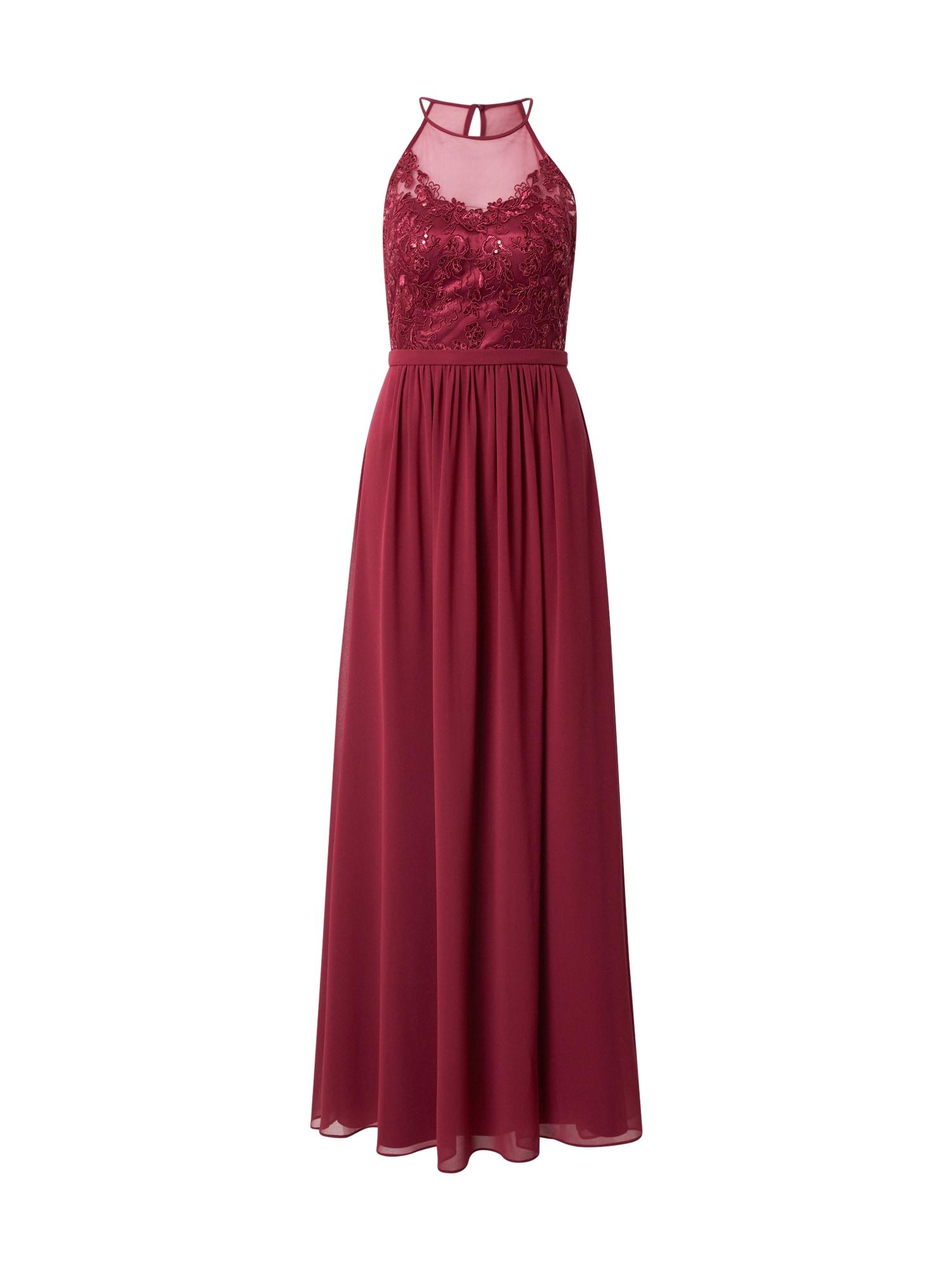 VM Vera Mont Vakarinė suknelė avietinė