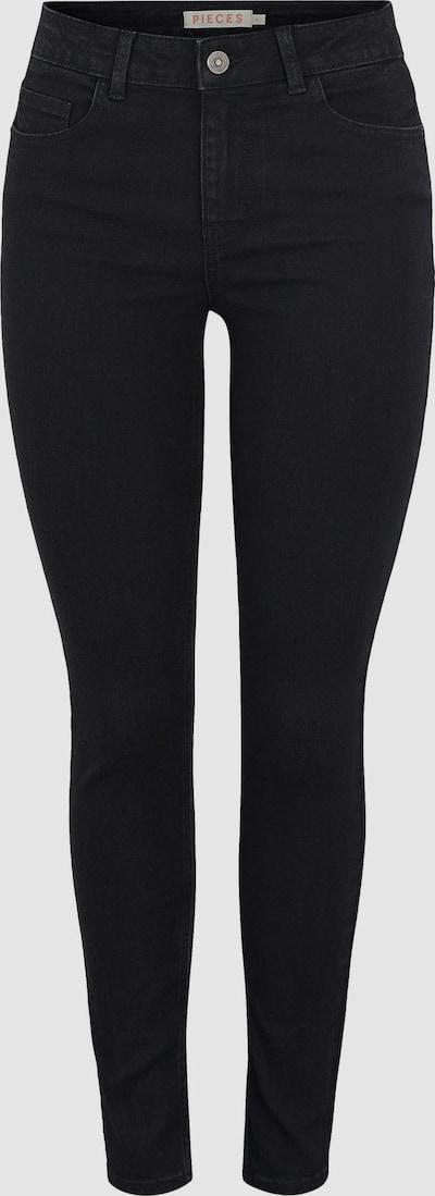 Pieces Peggy Skinny Jeans mit mittelhohem Bund