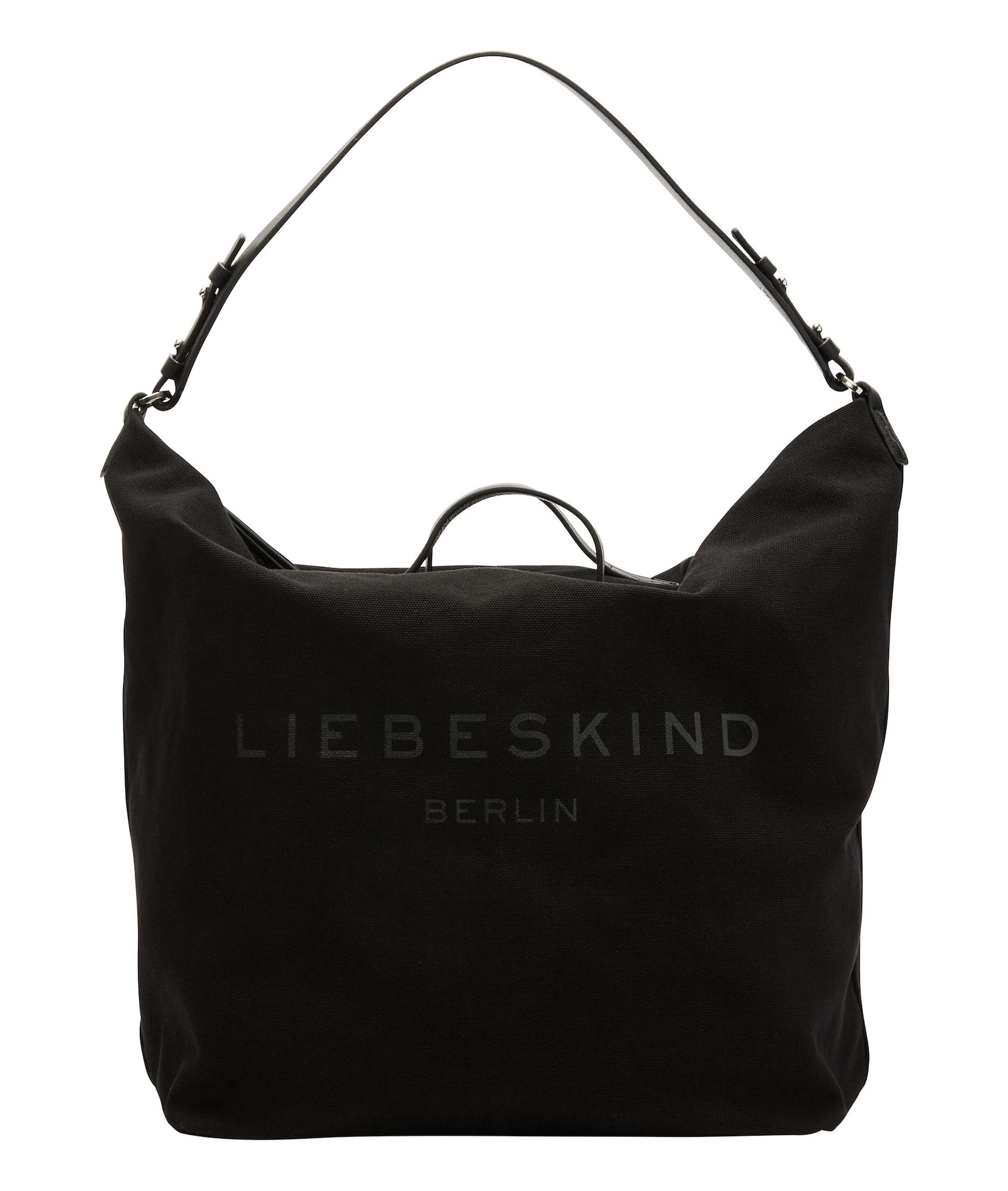 Liebeskind Berlin Pirkinių krepšys 'Hobo' juoda