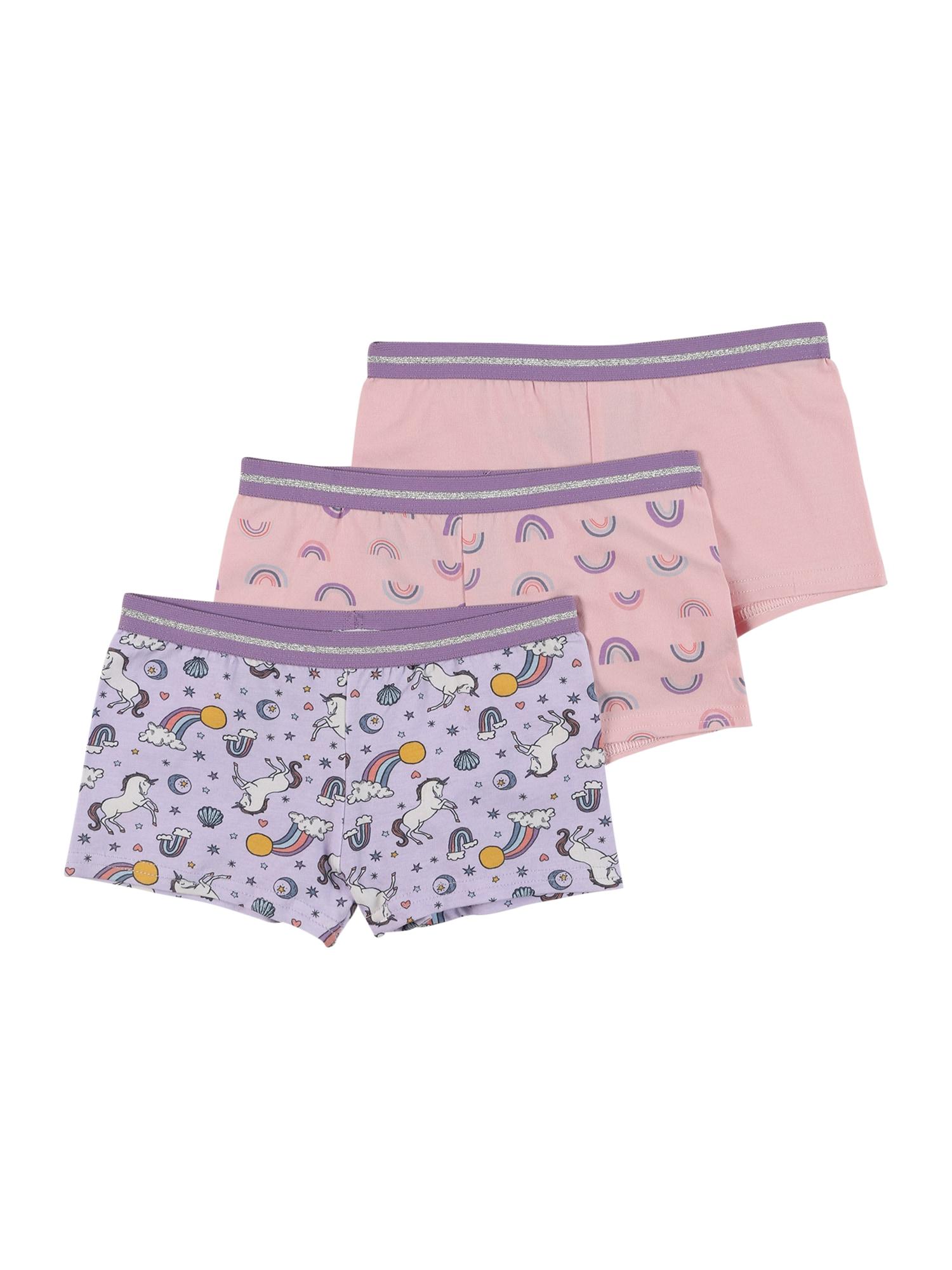 Cotton On Apatinės kelnaitės purpurinė / rožių spalva / balta / geltona / mėlyna