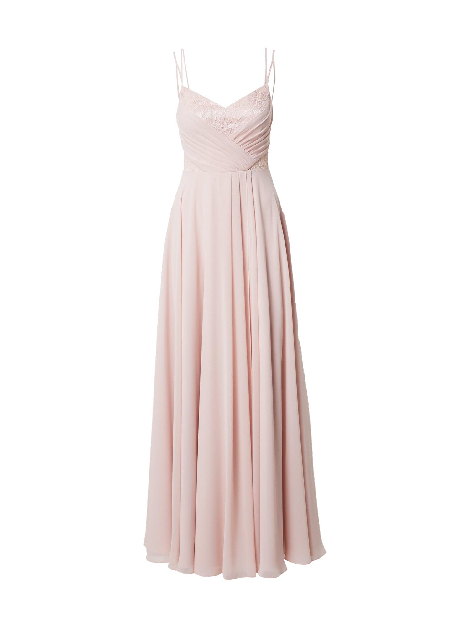 VM Vera Mont Vakarinė suknelė pudros spalva