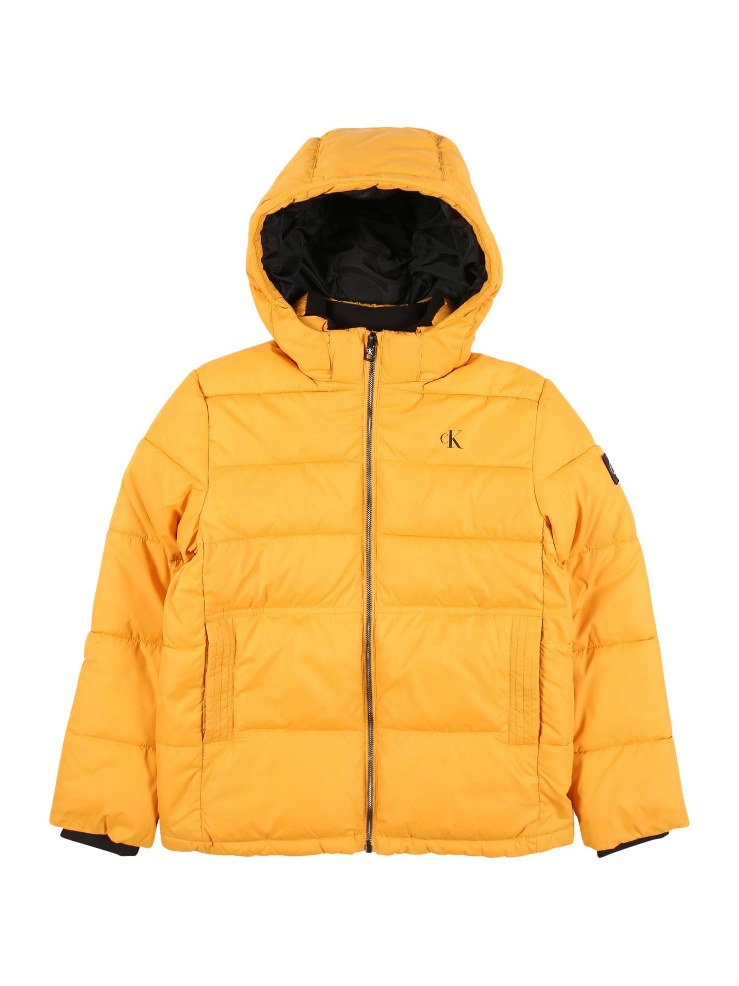 Calvin Klein Jeans Žieminė striukė 'Essential' geltona