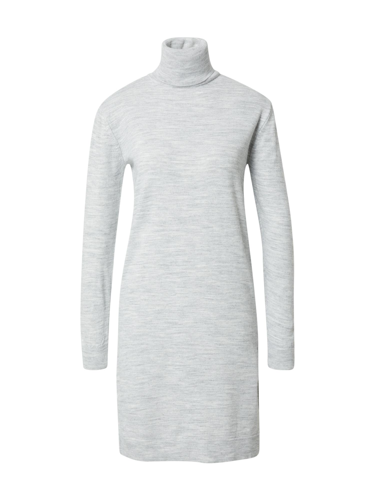 DeFacto Úpletové šaty 'Balıkçı'  šedá