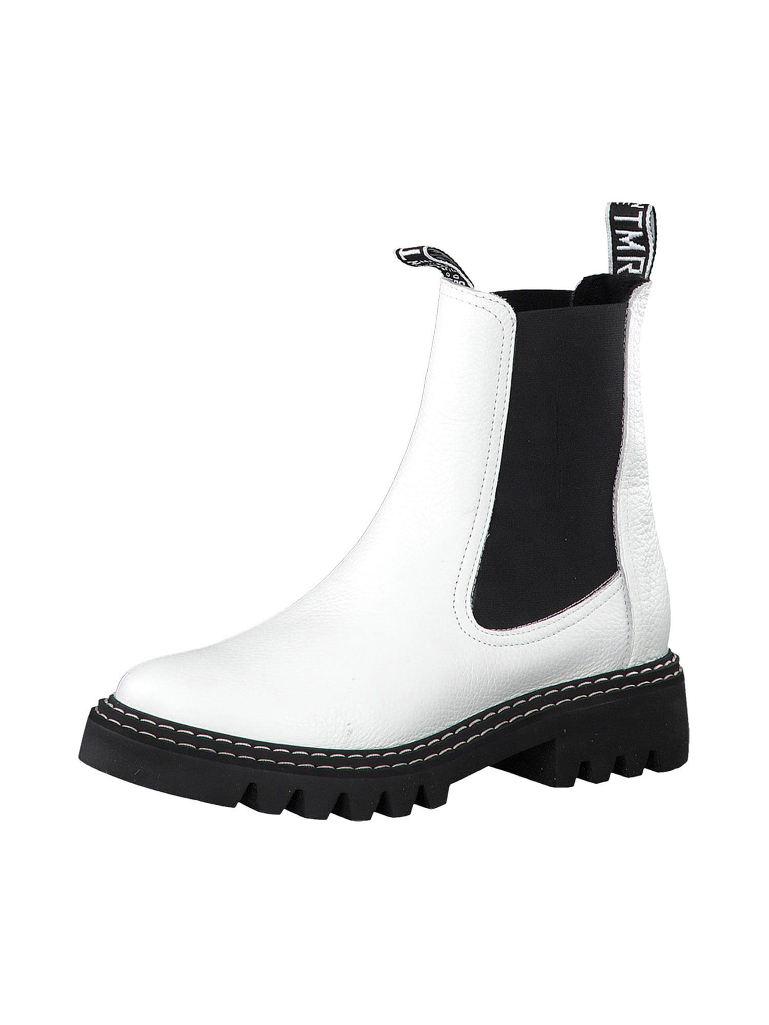 TAMARIS Chelsea boty  bílá