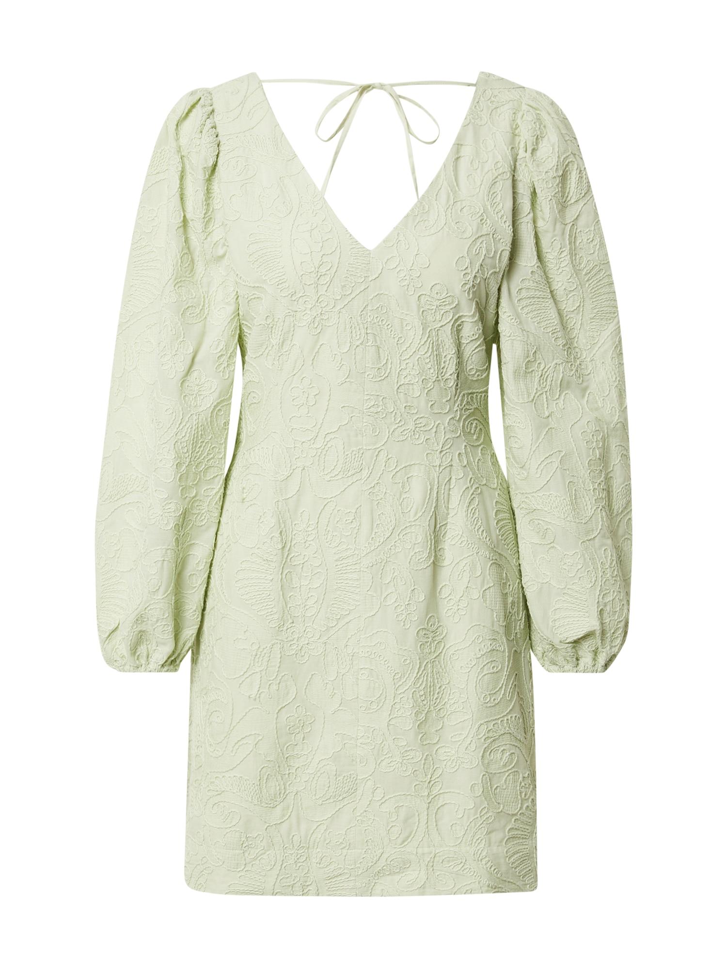 Samsoe Samsoe Šaty 'Anai'  pastelově zelená