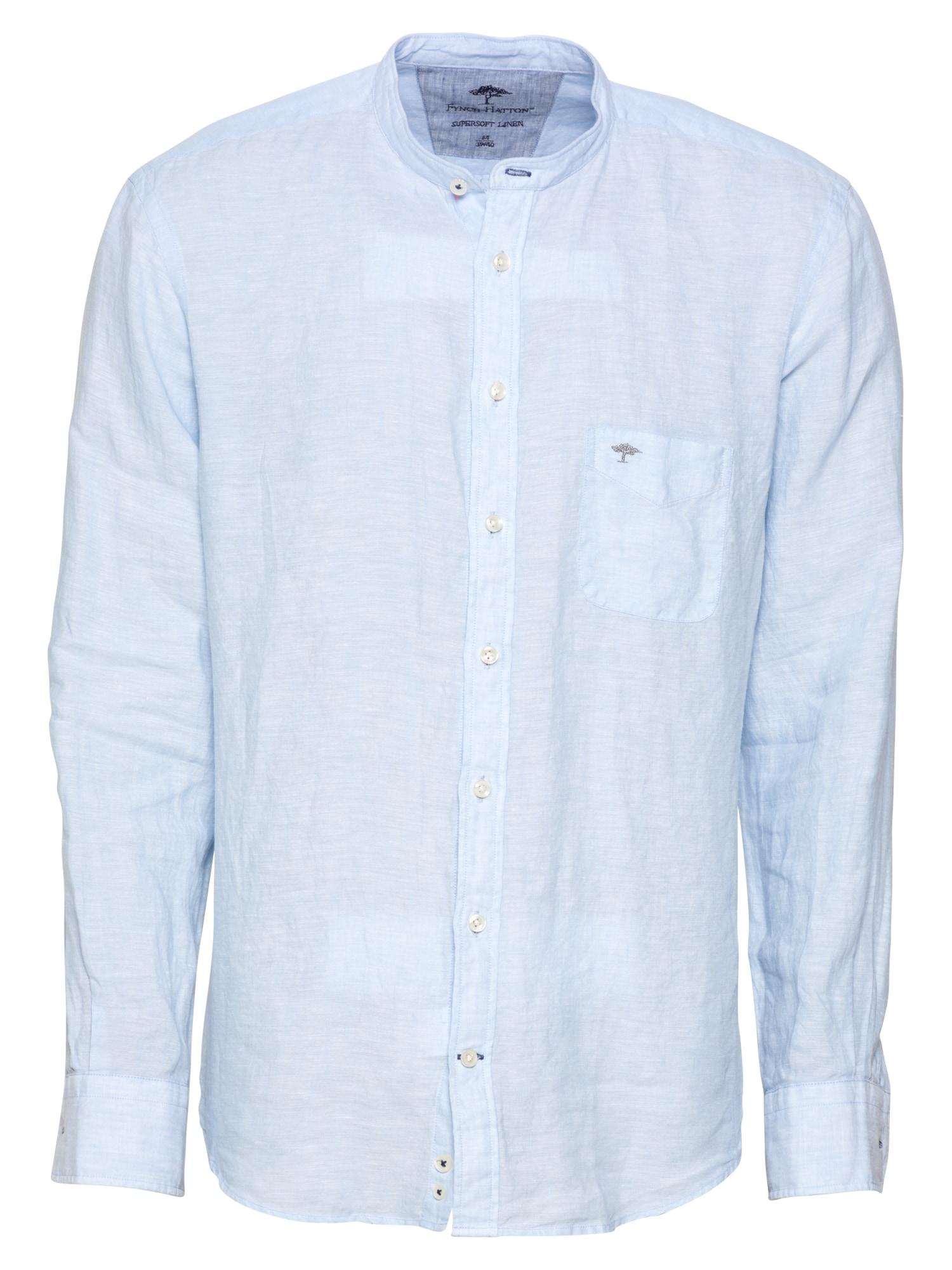 FYNCH-HATTON Marškiniai šviesiai mėlyna