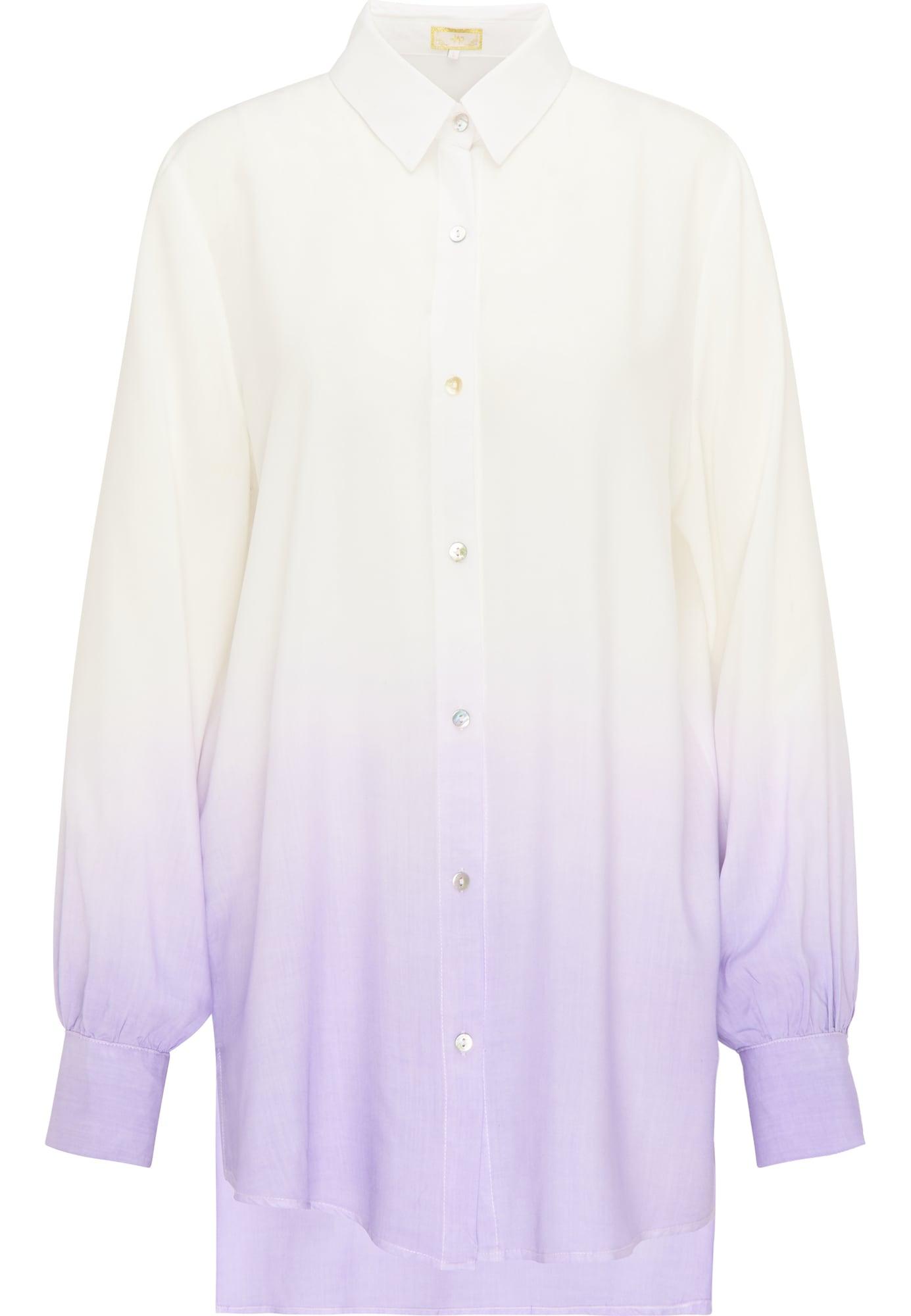 MYMO Palaidinė balta / pastelinė violetinė