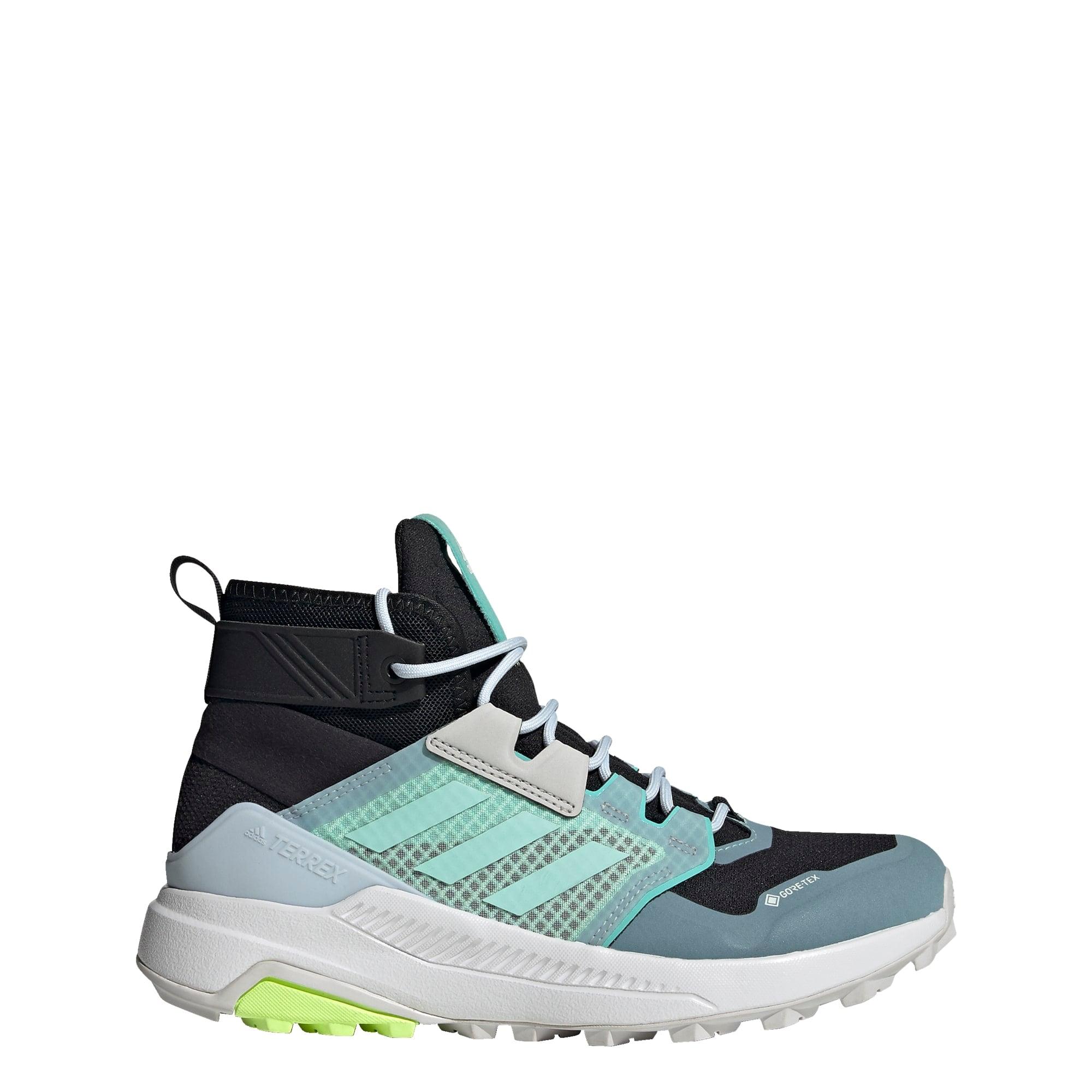 ADIDAS PERFORMANCE Auliniai batai juoda / turkio spalva / mėlyna