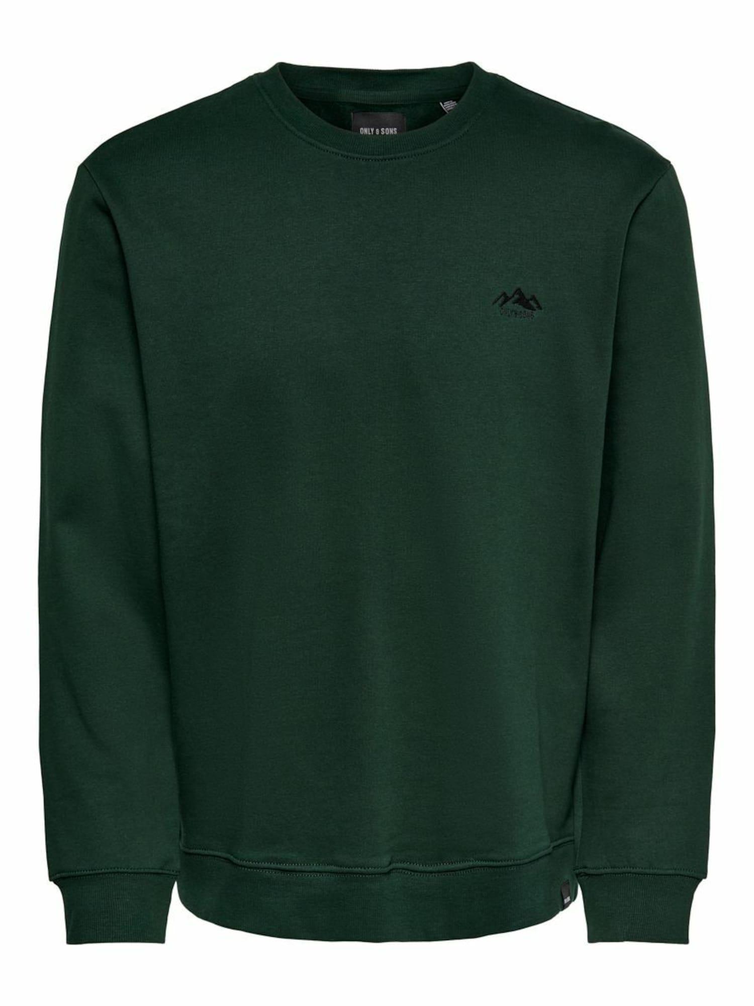Only & Sons Megztinis be užsegimo tamsiai žalia