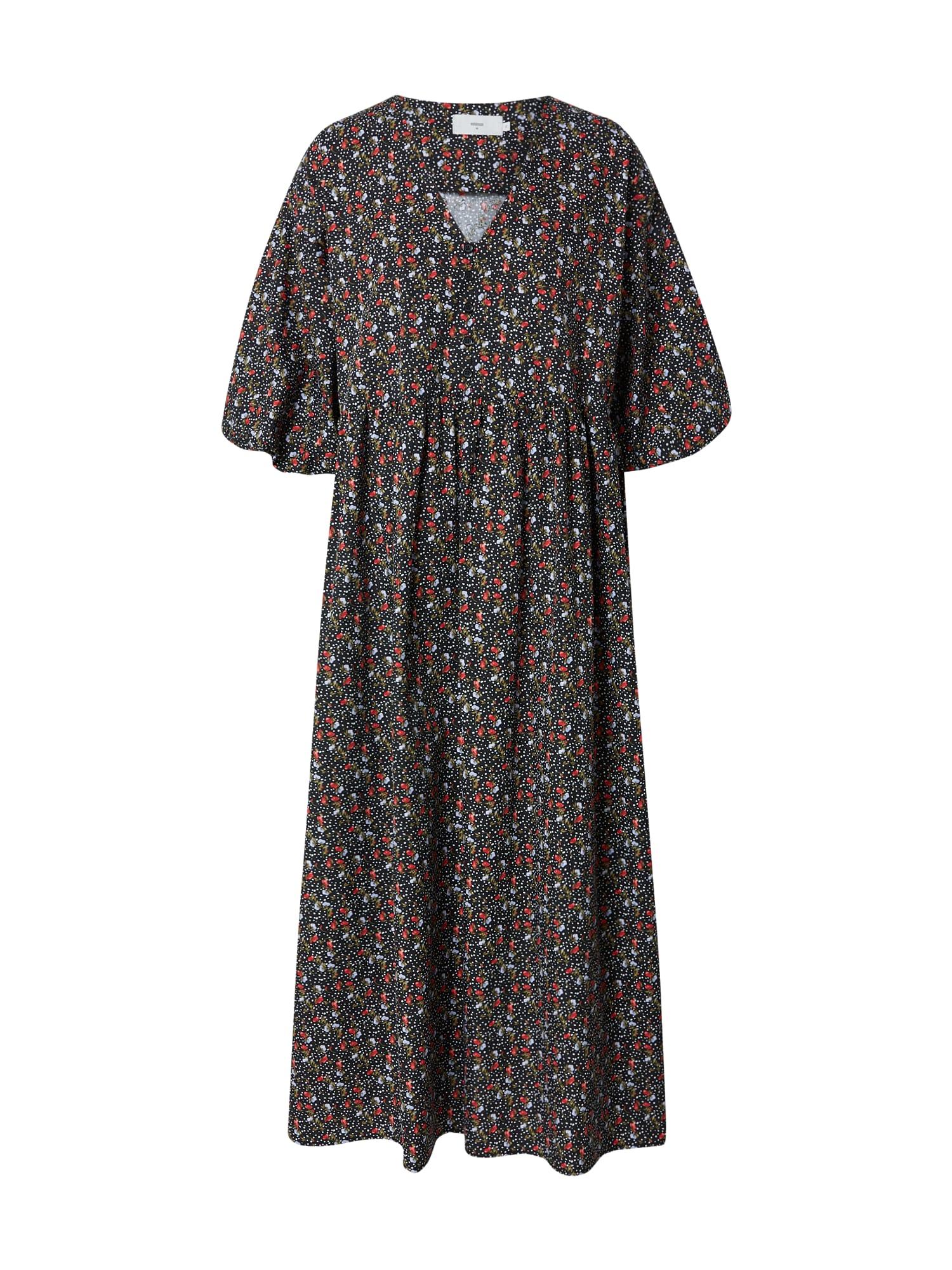 minimum Košilové šaty 'Balia 9045'  černá / mix barev
